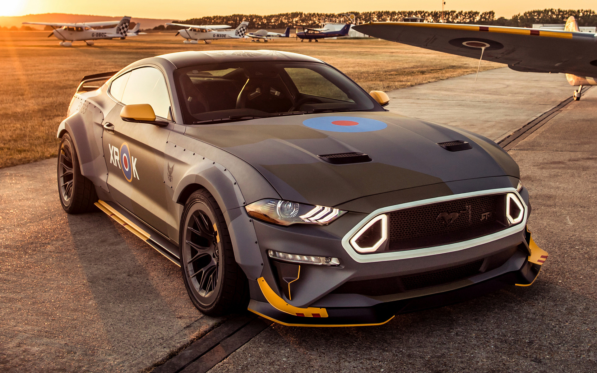2018 ford eagle squadron mustang gt wallpapers and hd images car