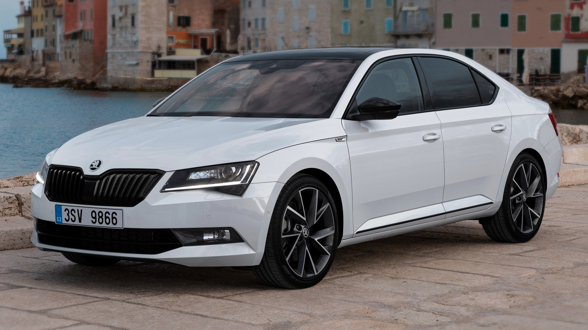skoda superb sportline 2015 wallpapers and hd images car pixel. Black Bedroom Furniture Sets. Home Design Ideas