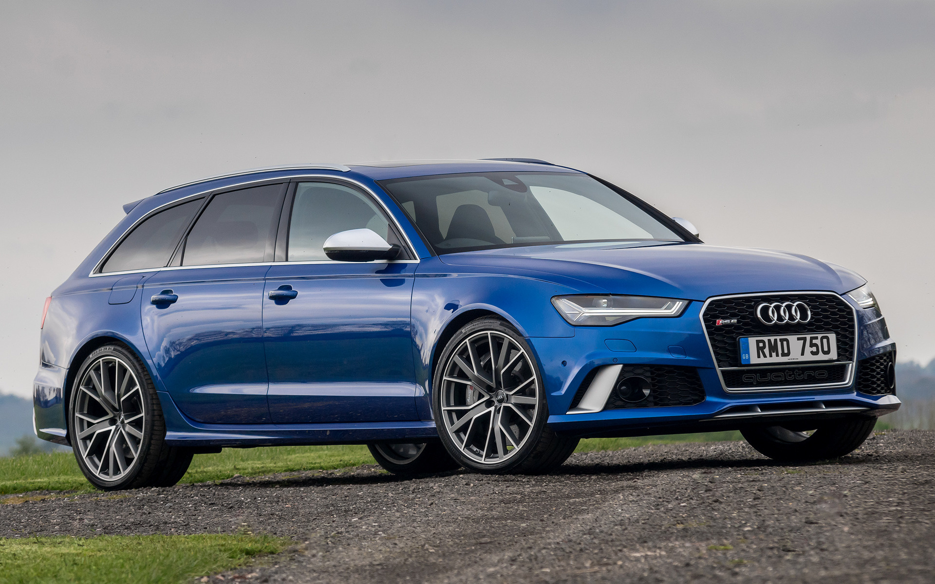 2016 Audi Rs 6 Avant Performance Uk Wallpapers And Hd