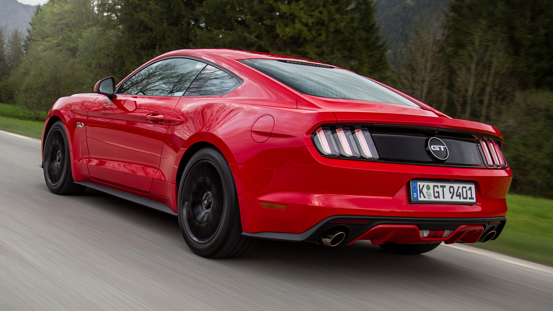 2015 Ford Mustang Gt Eu Wallpapers And Hd Images Car