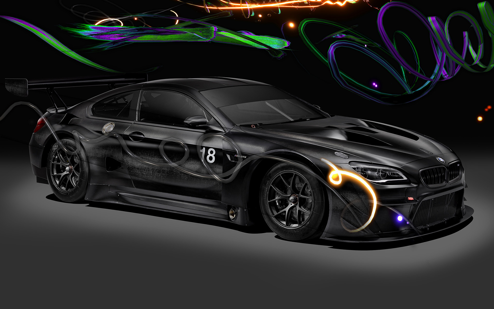 Rolls Royce Bentley >> 2017 BMW M6 GT3 Art Car by Cao Fei - Wallpapers and HD ...