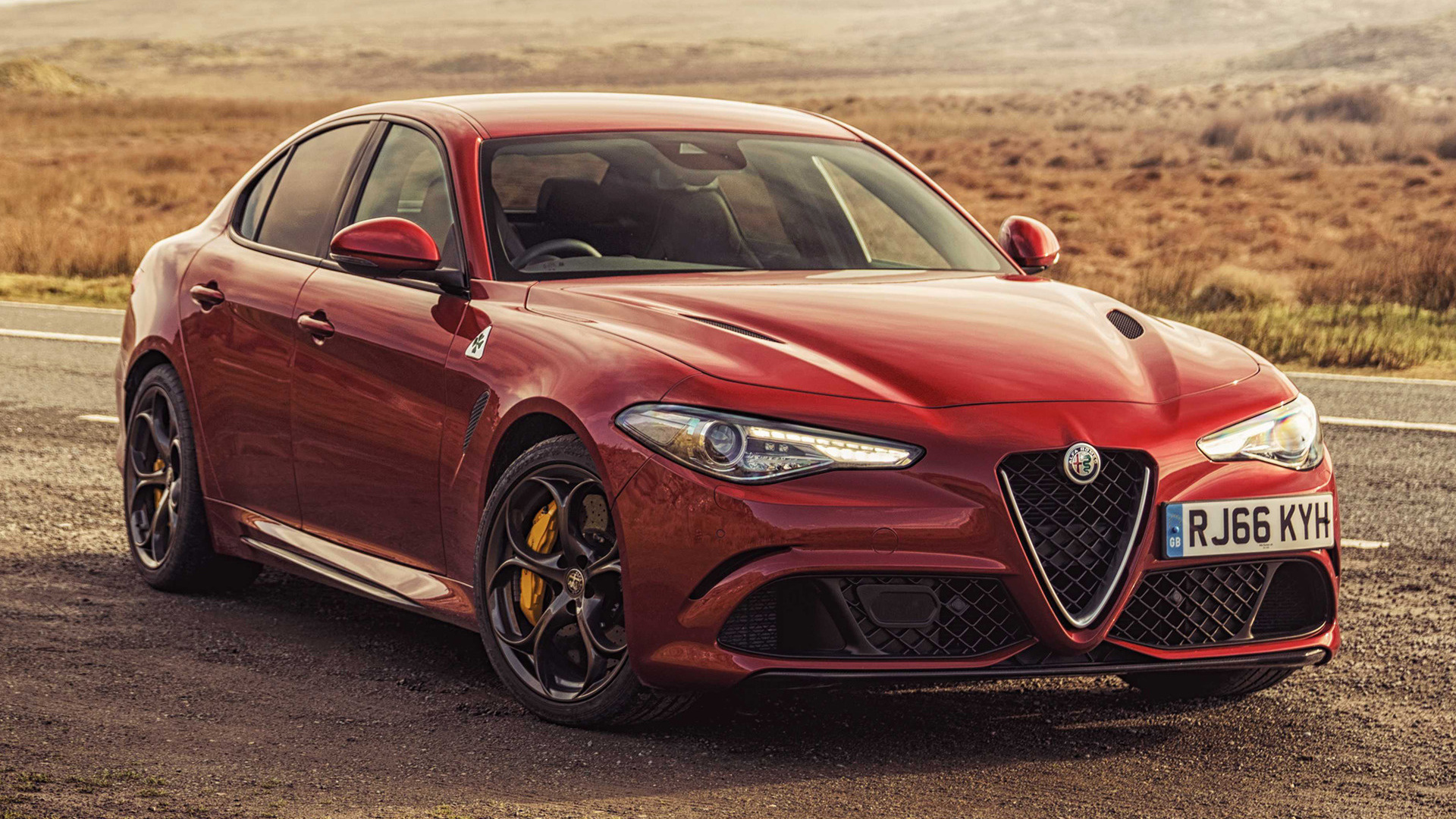 2016 Alfa Romeo Giulia Quadrifoglio Uk Wallpapers And Hd