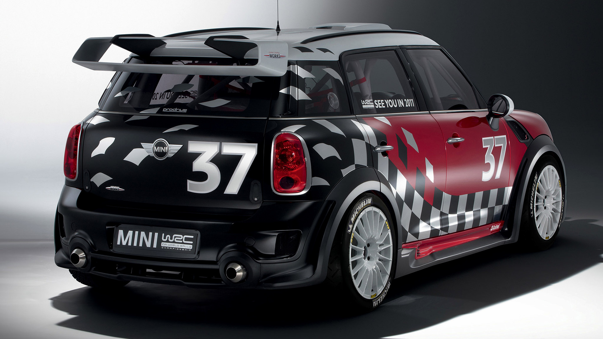 mini john cooper works countryman wrc prototype 2010 wallpapers and hd images car pixel. Black Bedroom Furniture Sets. Home Design Ideas