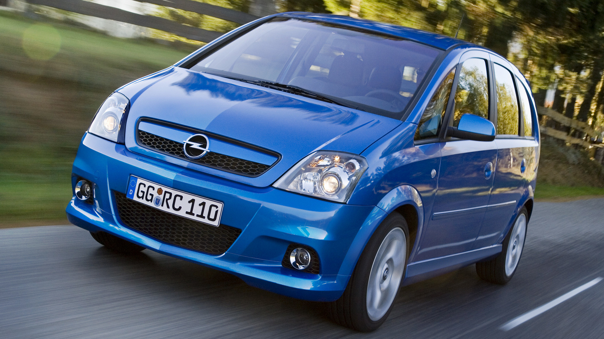 2006 Opel Meriva Opc Wallpapers And Hd Images Car Pixel