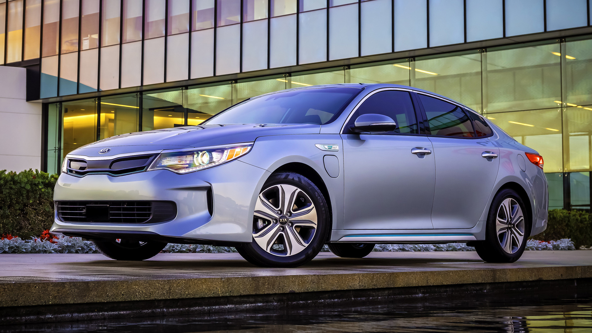 kia optima plug in hybrid ex 2017 wallpapers and hd images car pixel. Black Bedroom Furniture Sets. Home Design Ideas