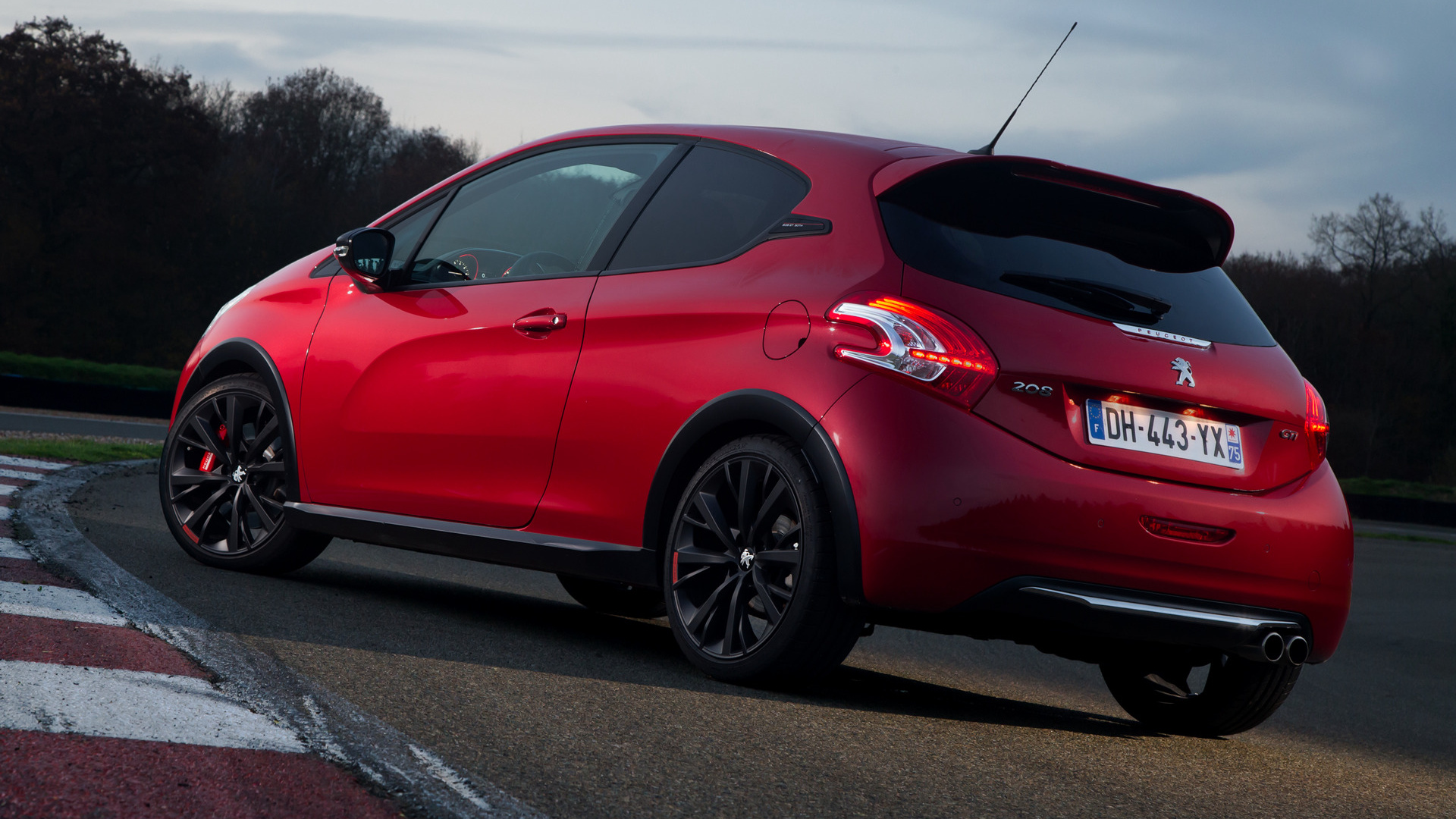 2014 peugeot 208 gti 30th anniversary wallpapers and hd images car pixel. Black Bedroom Furniture Sets. Home Design Ideas