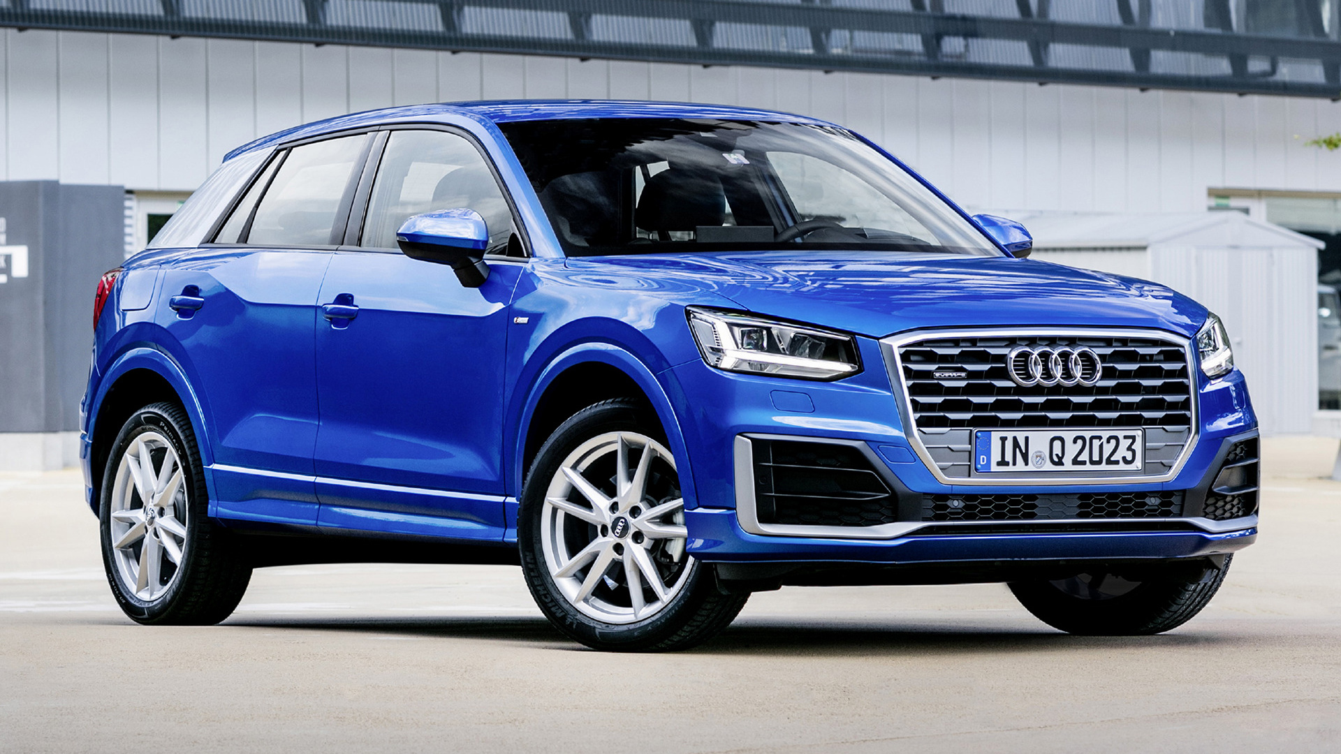 audi q2 s line 2016 wallpapers and hd images car pixel. Black Bedroom Furniture Sets. Home Design Ideas