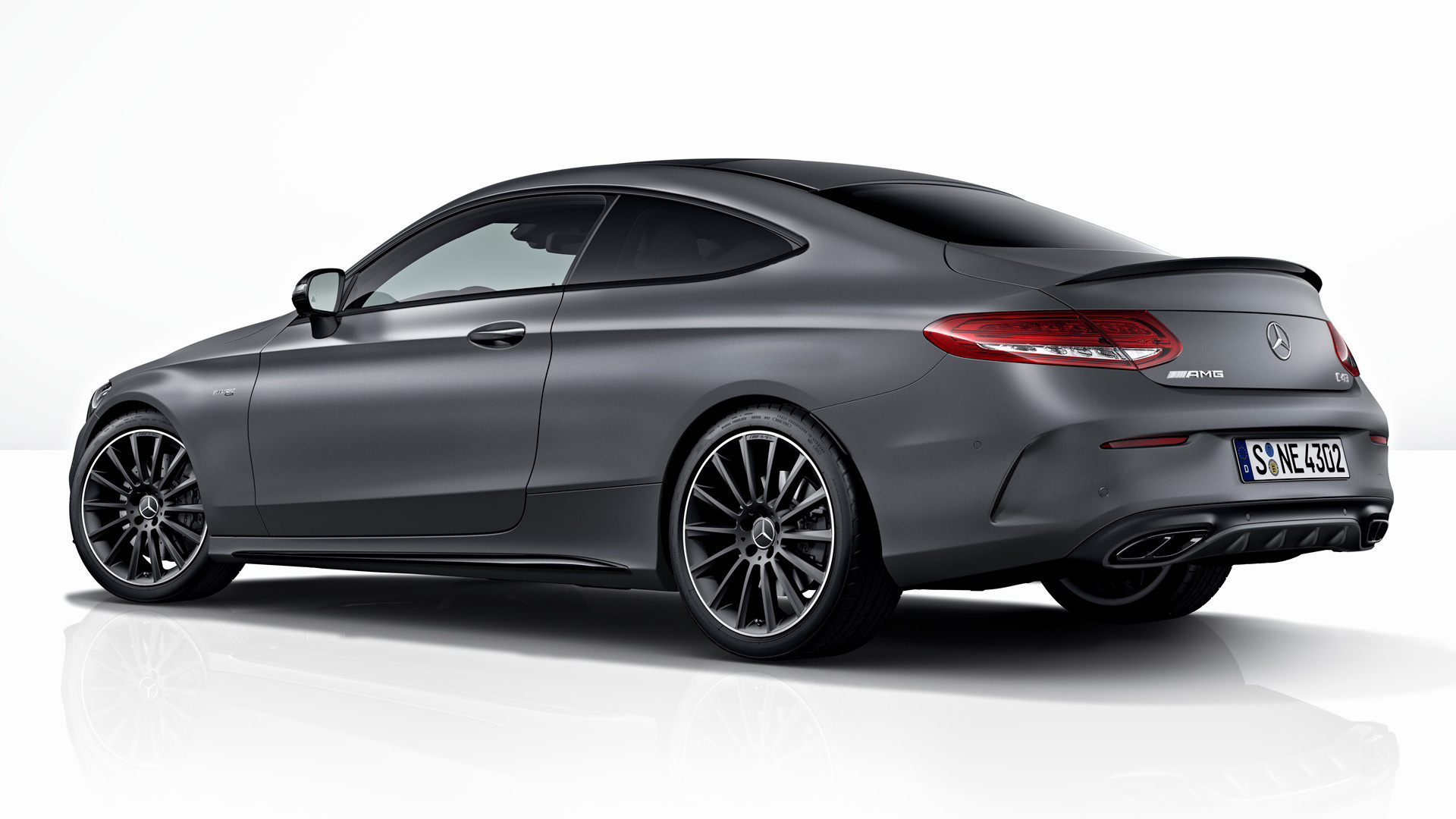Mercedes-AMG C 43 Coupe Night Edition (2017) Wallpapers ...