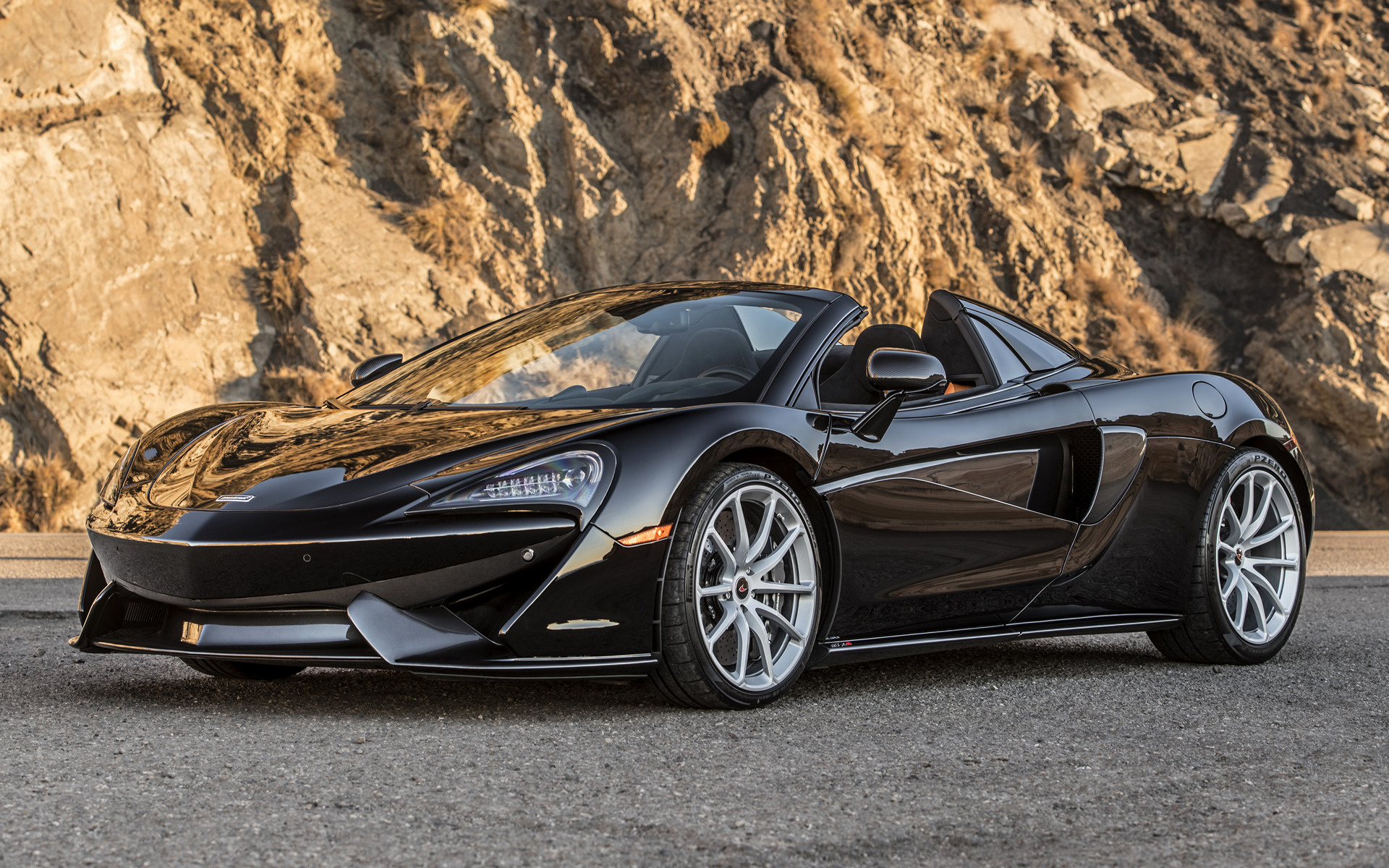McLaren 570S Spider (2018) US Wallpapers and HD Images - Car Pixel