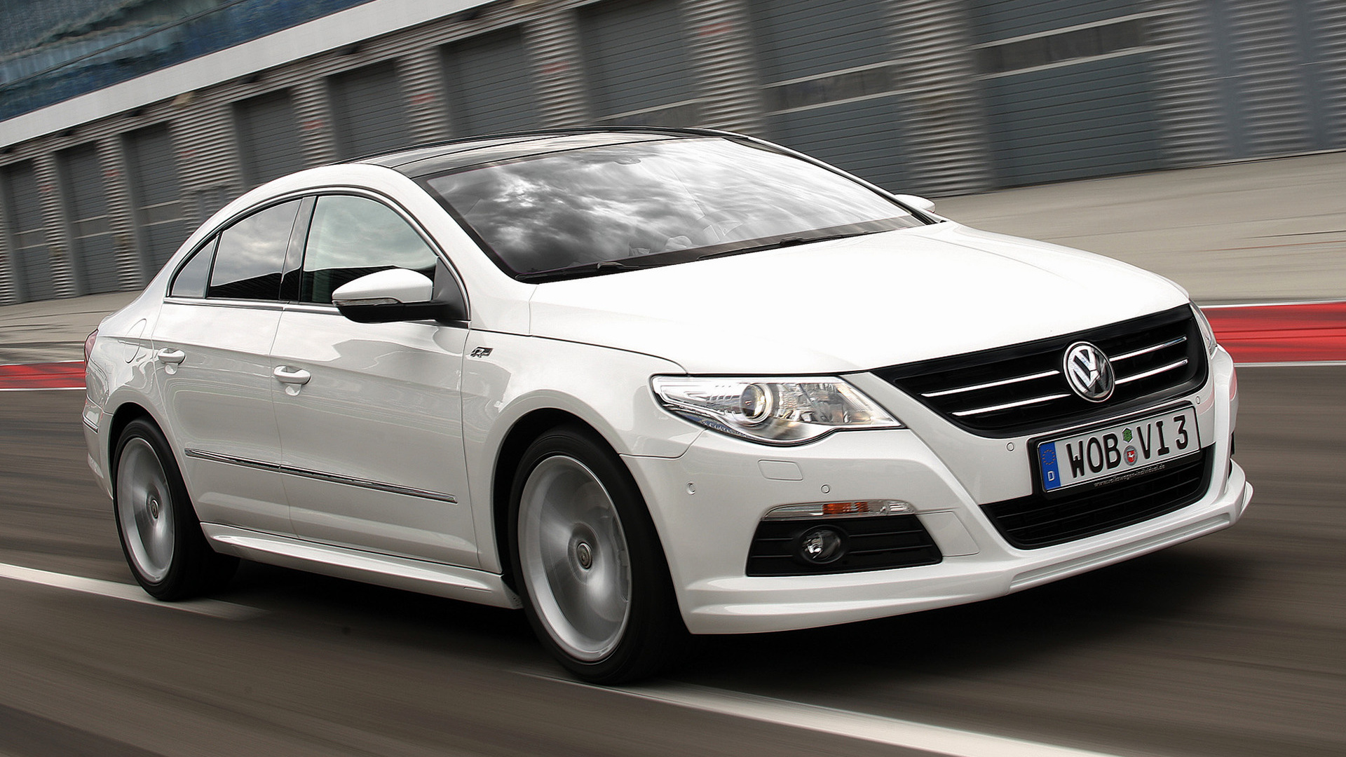 Who Makes Cadillac >> Volkswagen Passat CC R-Line (2009) Wallpapers and HD ...