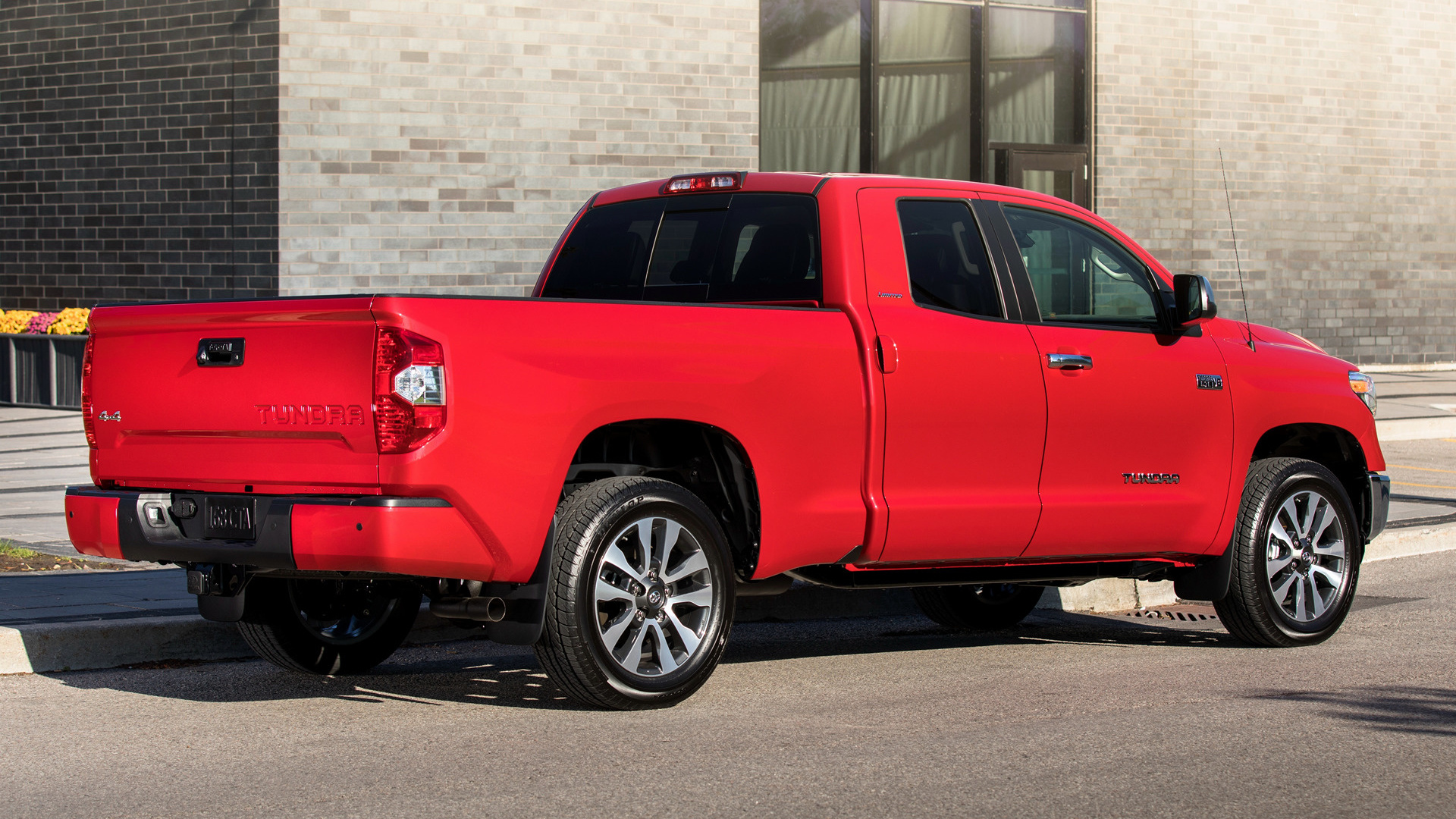 Trd Pro Tundra >> 2018 Toyota Tundra Limited Double Cab - Wallpapers and HD Images | Car Pixel