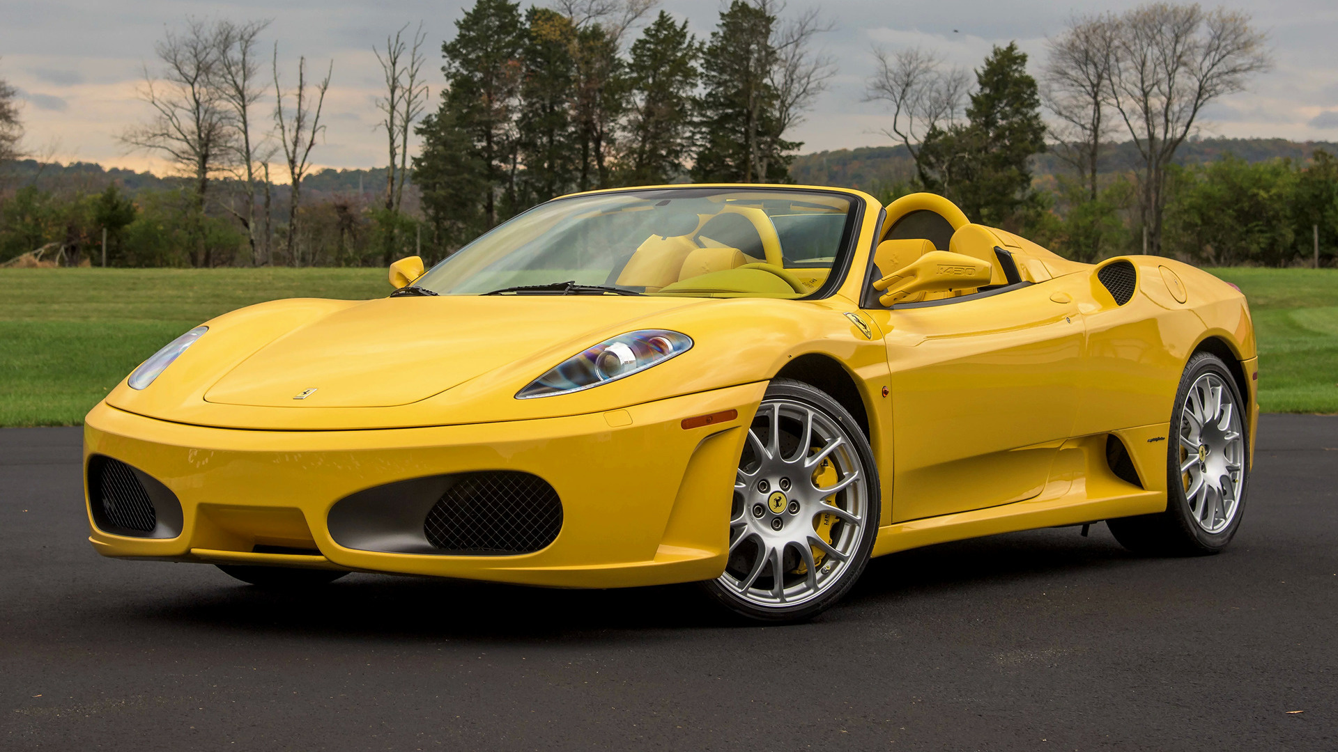 2005 ferrari f430 spider us wallpapers and hd images. Black Bedroom Furniture Sets. Home Design Ideas