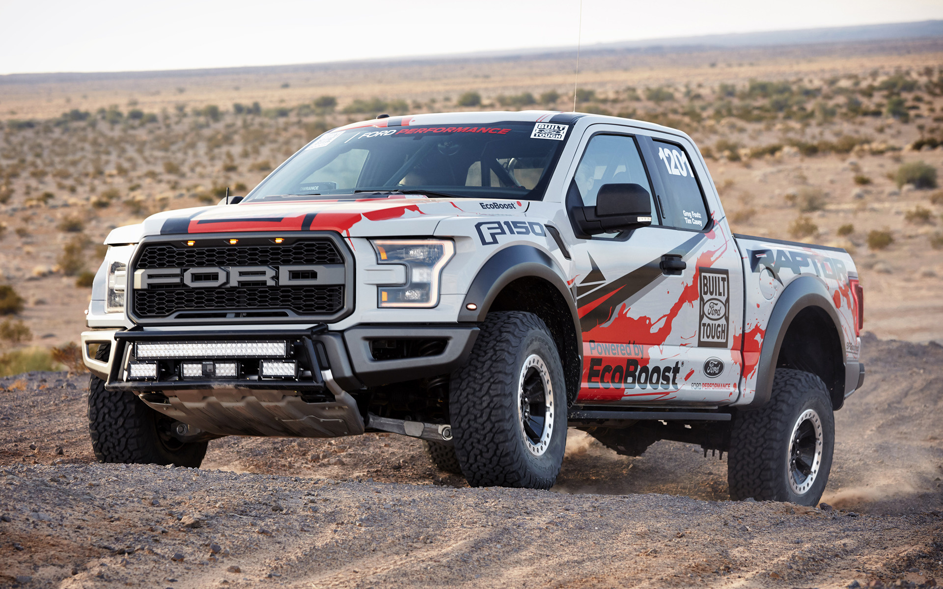 Ford F-150 Raptor Race Truck (2017) Wallpapers and HD Images - Car ...