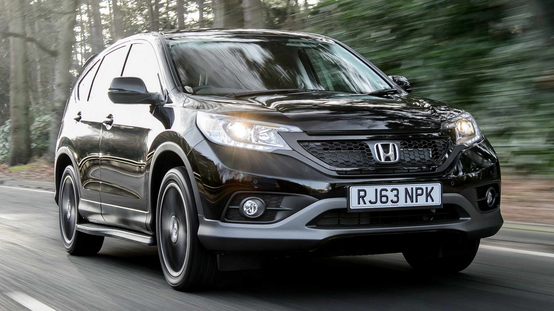2014 Honda Cr V Black Wallpapers And Hd Images Car Pixel