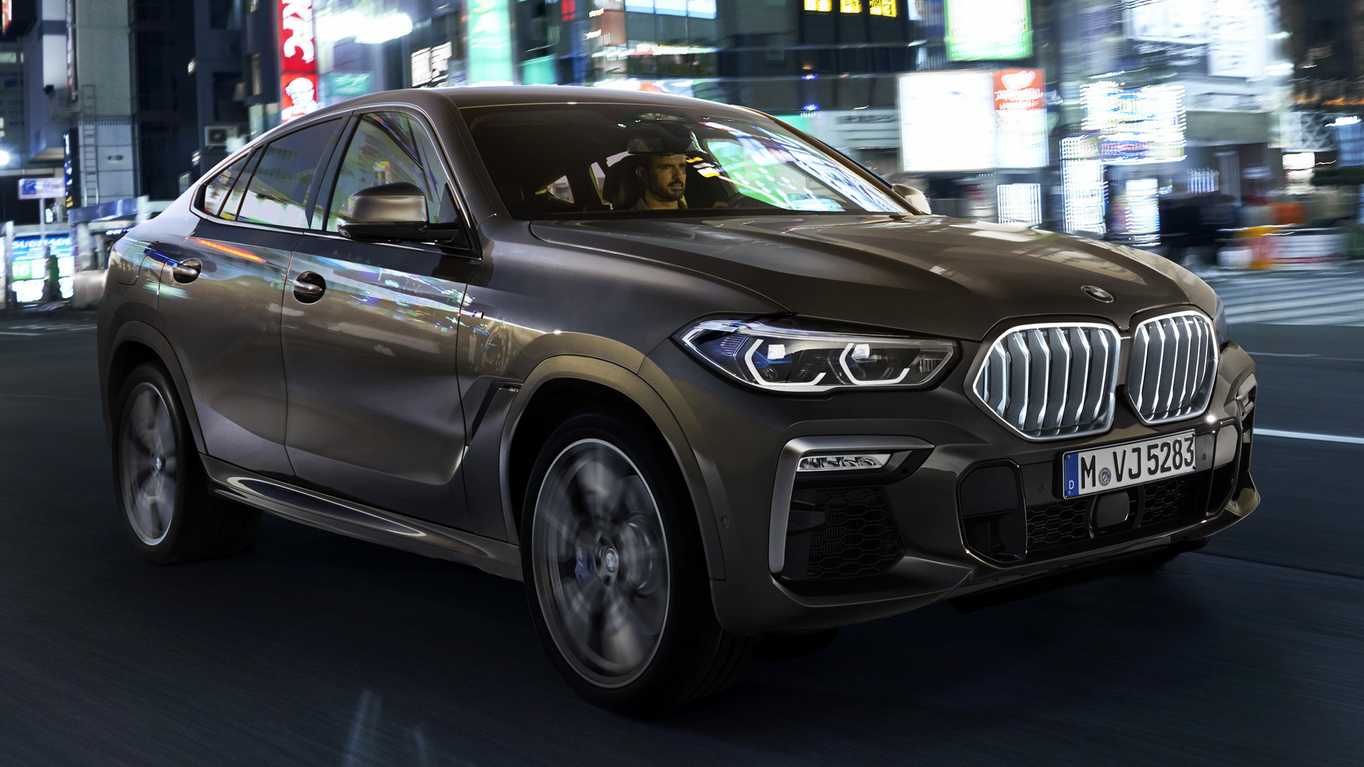 2019 Bmw X6 M50i Wallpapers And Hd Images Car Pixel