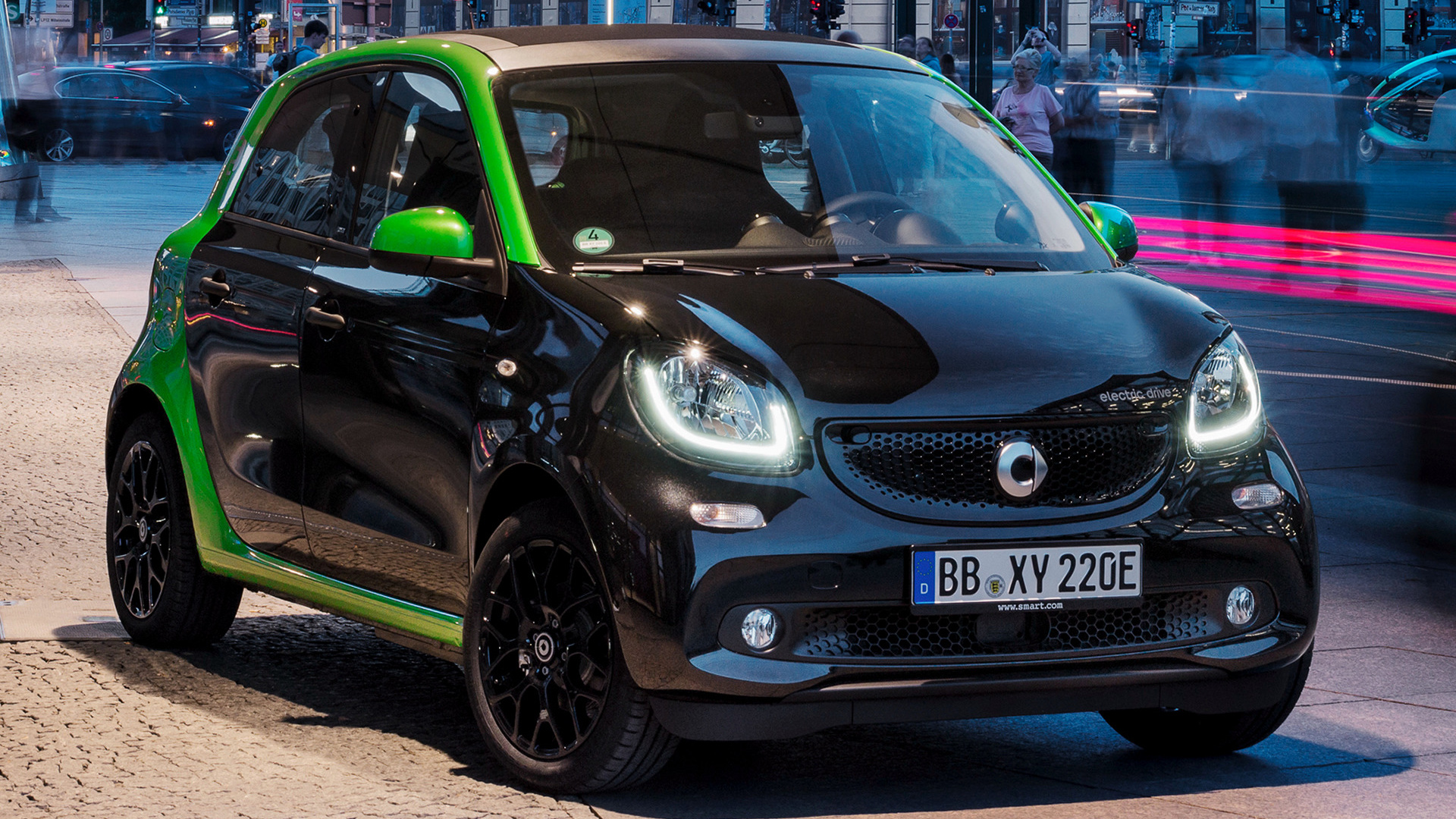 smart forfour electric drive 2017 wallpapers and hd. Black Bedroom Furniture Sets. Home Design Ideas