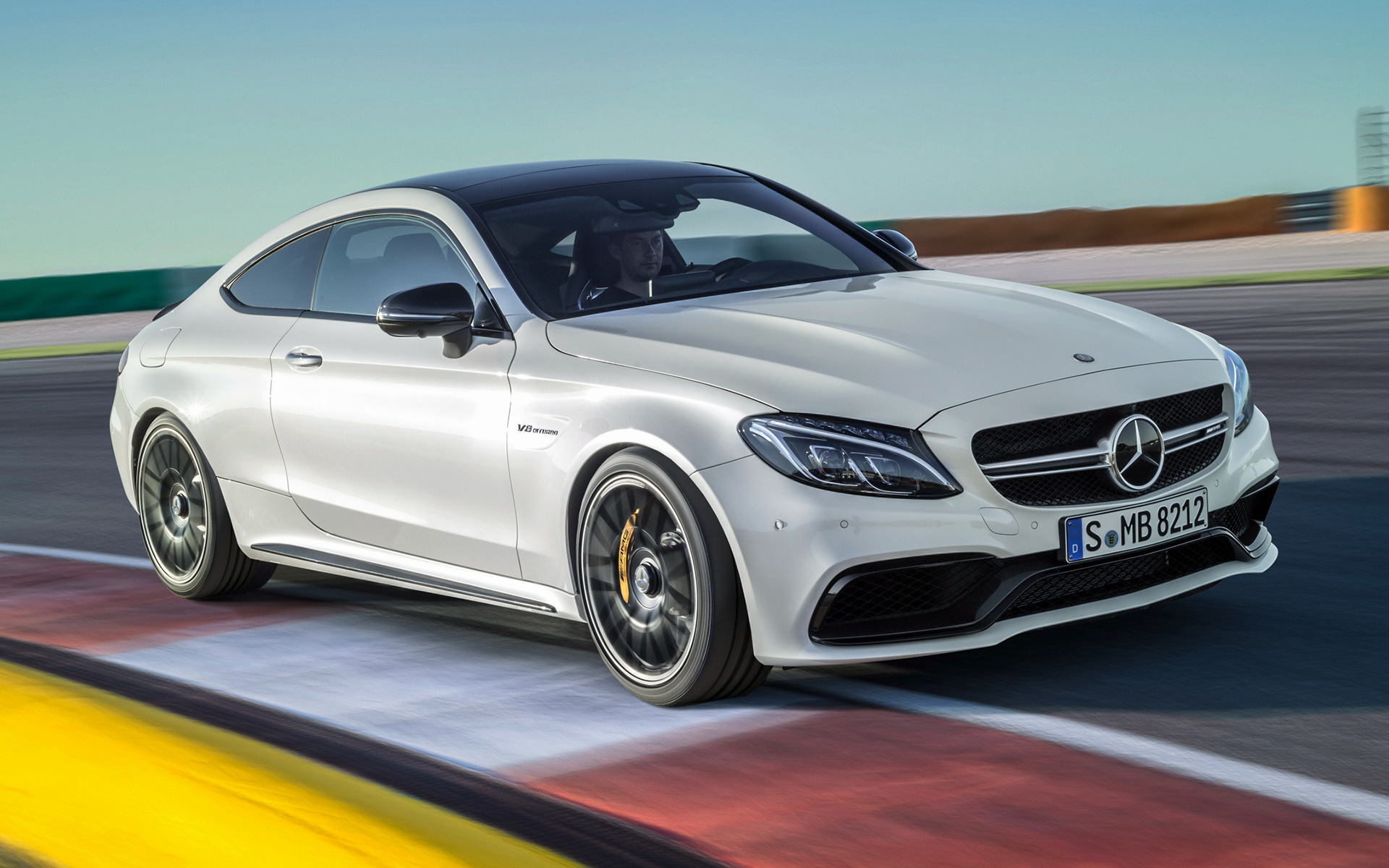mercedes amg c 63 s coupe 2016 wallpapers and hd images car pixel. Black Bedroom Furniture Sets. Home Design Ideas