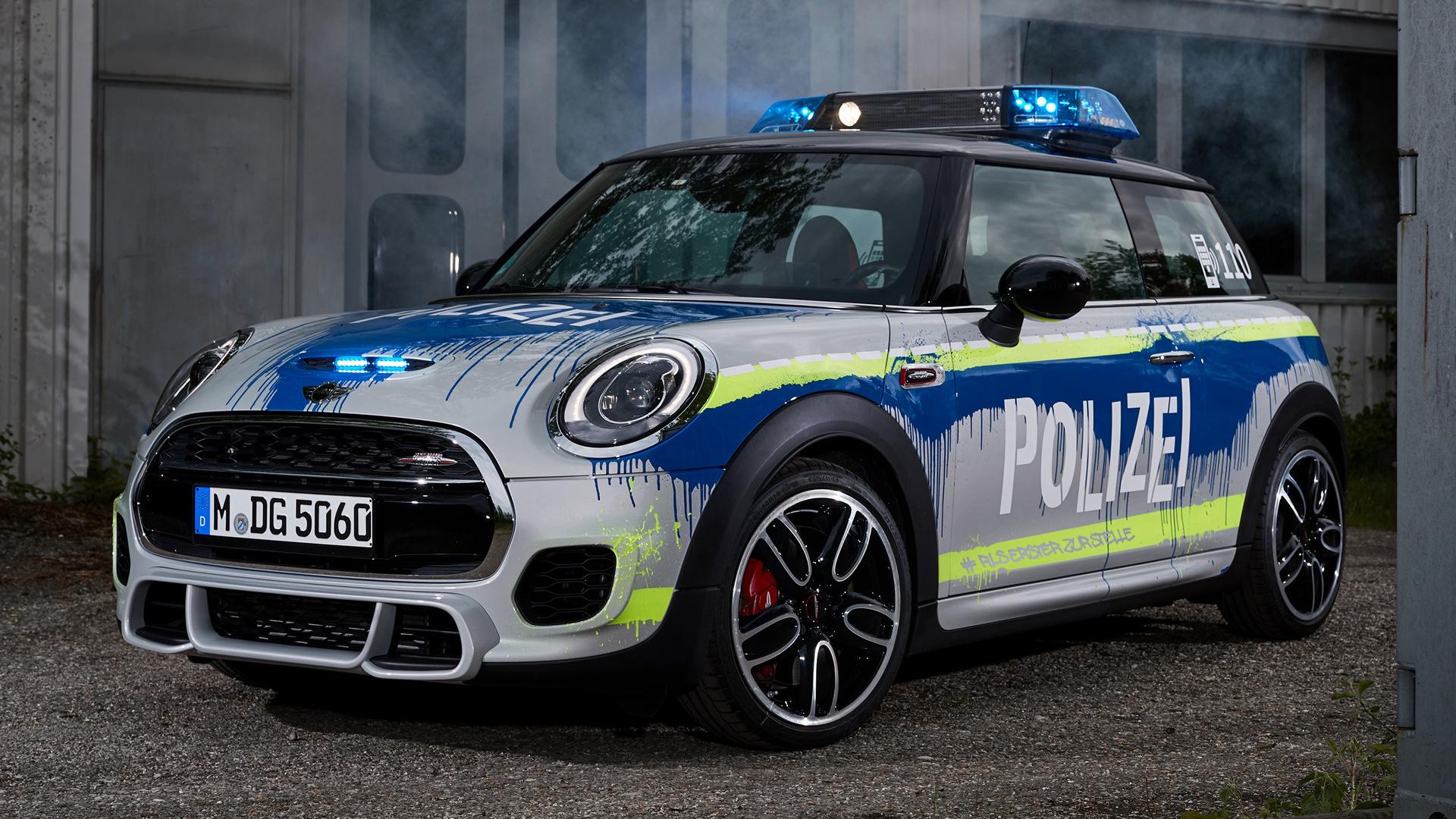 2018 Mini John Cooper Works Polizei 3 Door Wallpapers And Hd