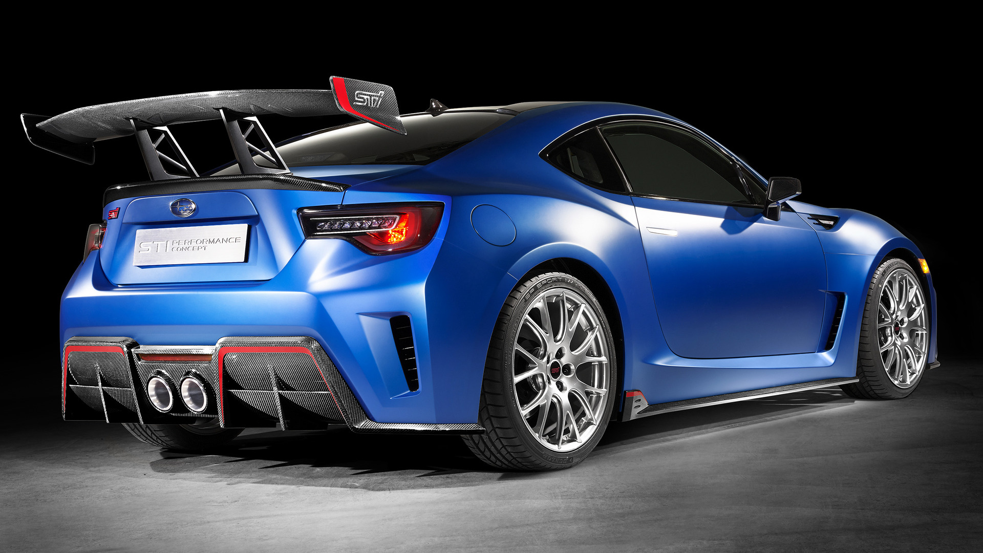2015 Subaru Brz Sti Performance Concept Wallpapers And