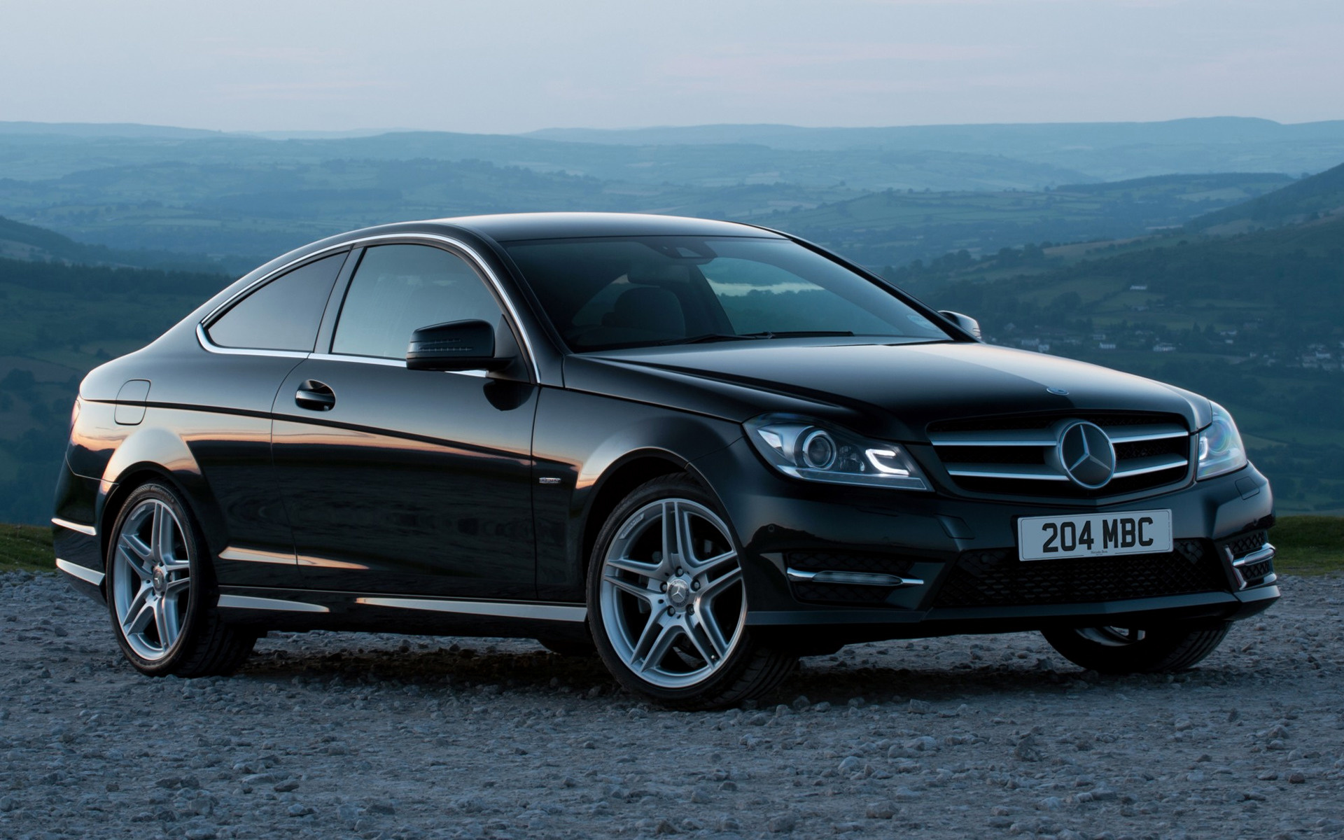 2011 Mercedes Benz C Class Coupe Amg Styling Uk