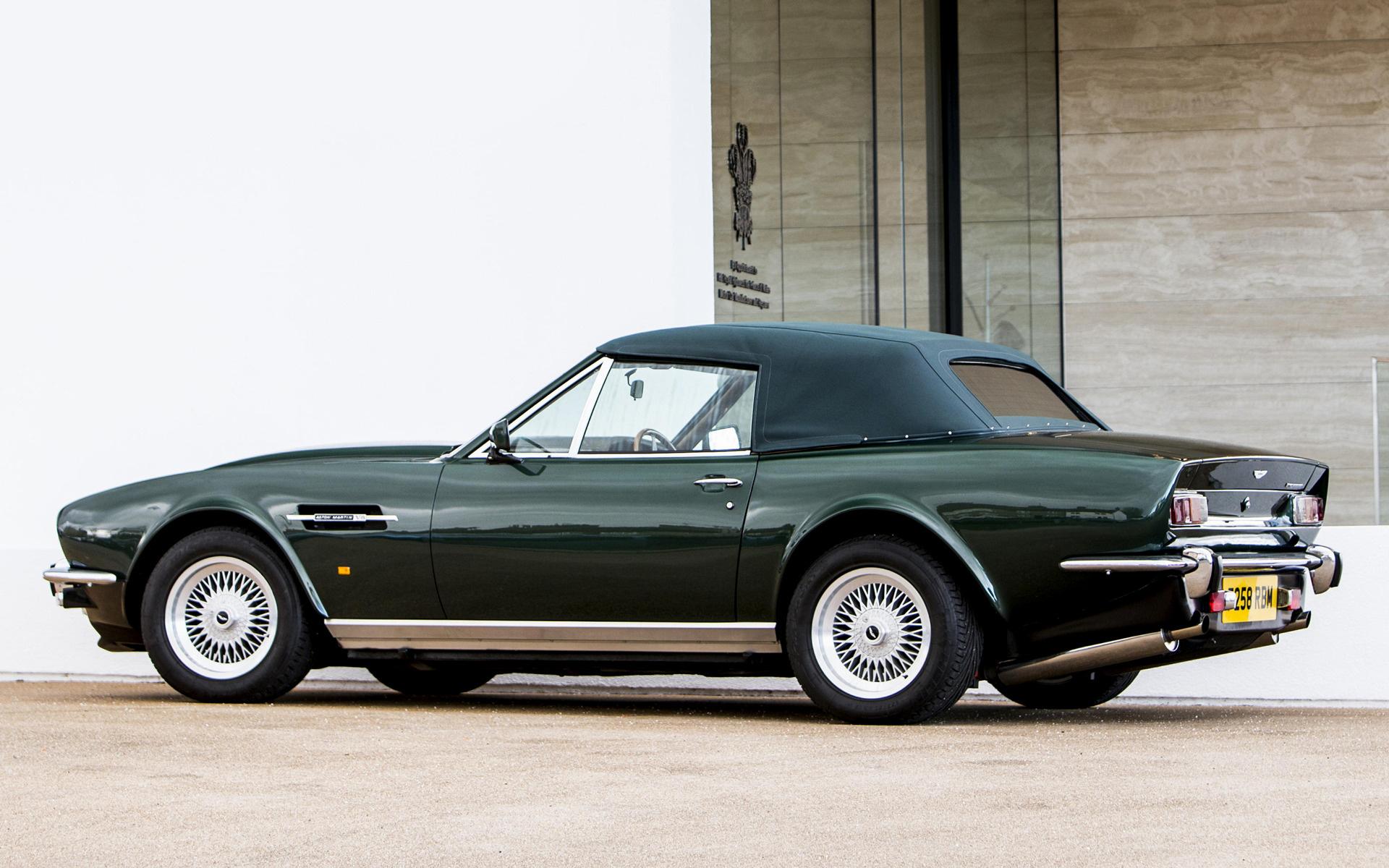 1986 Aston Martin V8 Vantage Volante Prince Of Wales Uk Hintergrundbilder Und Wallpaper In Hd Car Pixel