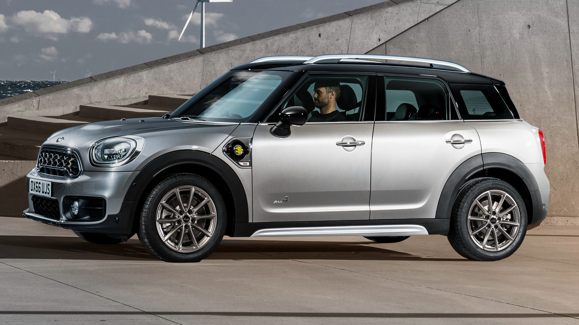 mini cooper s e countryman 2017 wallpapers and hd images car pixel. Black Bedroom Furniture Sets. Home Design Ideas