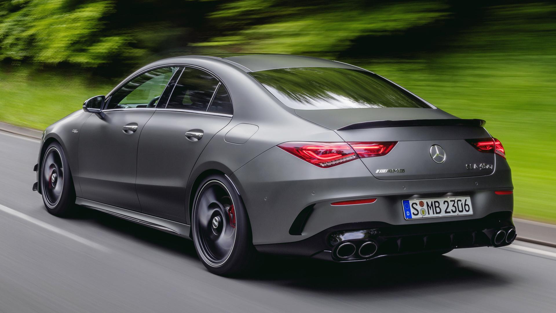 2019 Mercedes-AMG CLA 45 S Aerodynamics Package ...