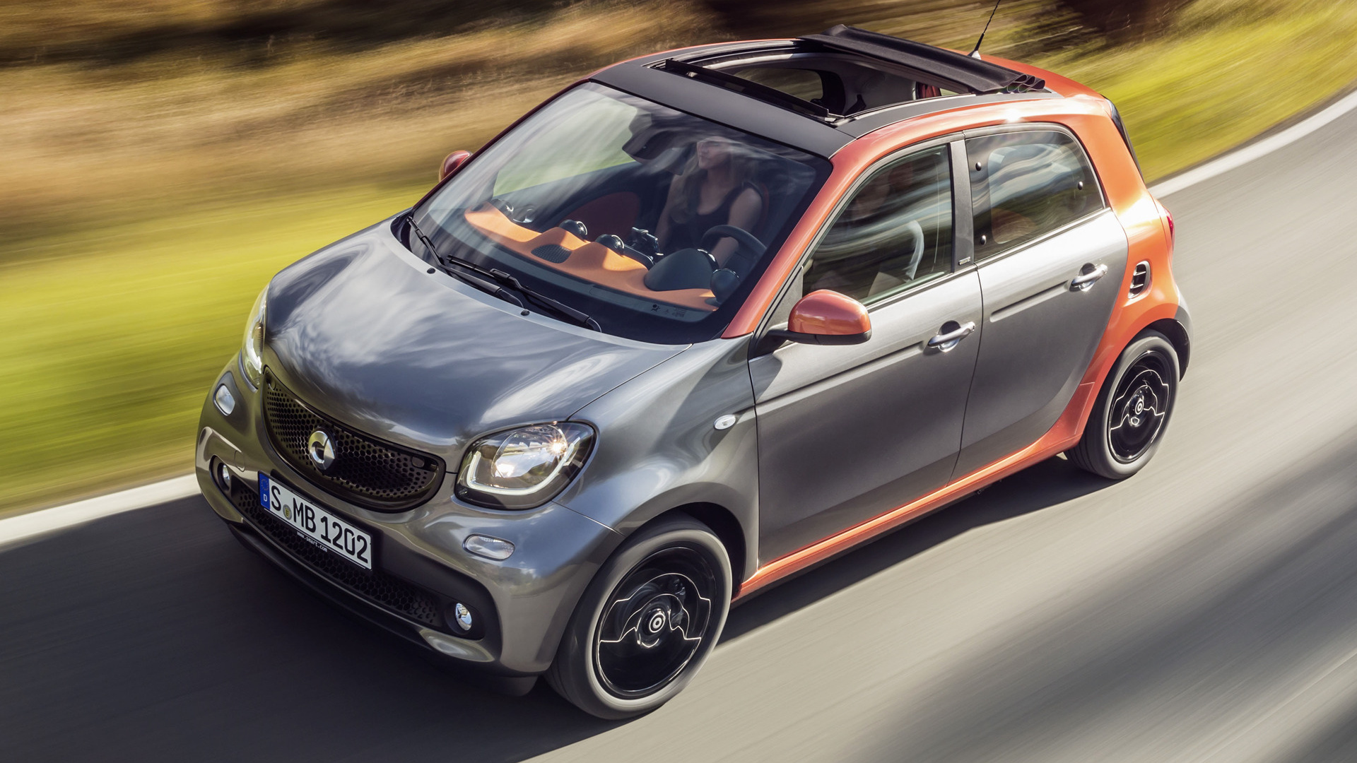 Smart Forfour edition #1 (2014) Wallpapers and HD Images - Car Pixel