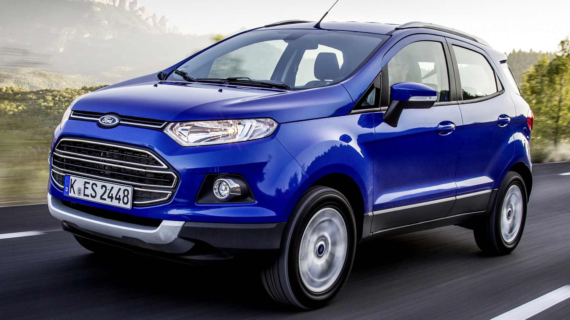 2014 Ford Ecosport Eu Wallpapers And Hd Images Car Pixel