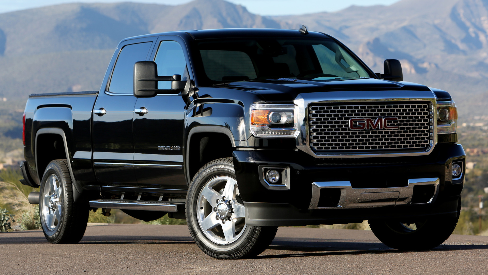2015 Gmc Sierra Denali 2500 Hd Crew Cab Wallpapers And