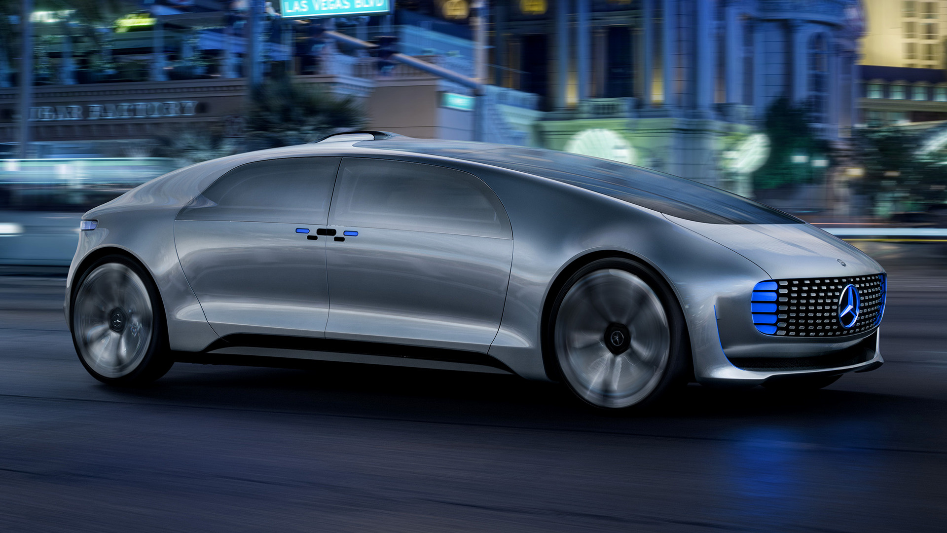 Mercedes Benz F 015 Luxury In Motion 2015 Wallpapers And