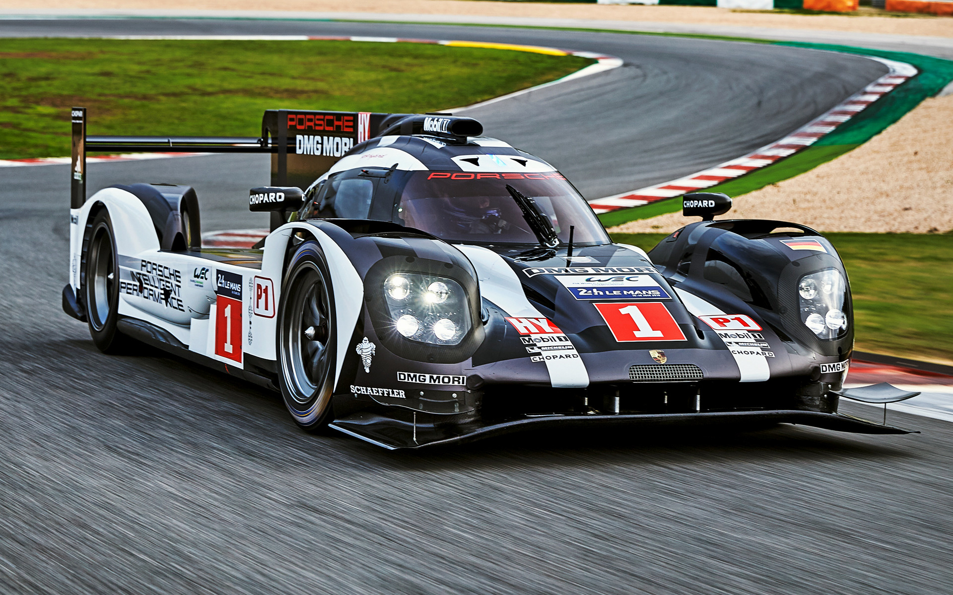 Porsche 919 Hybrid (2016) Wallpapers and HD Images - Car Pixel
