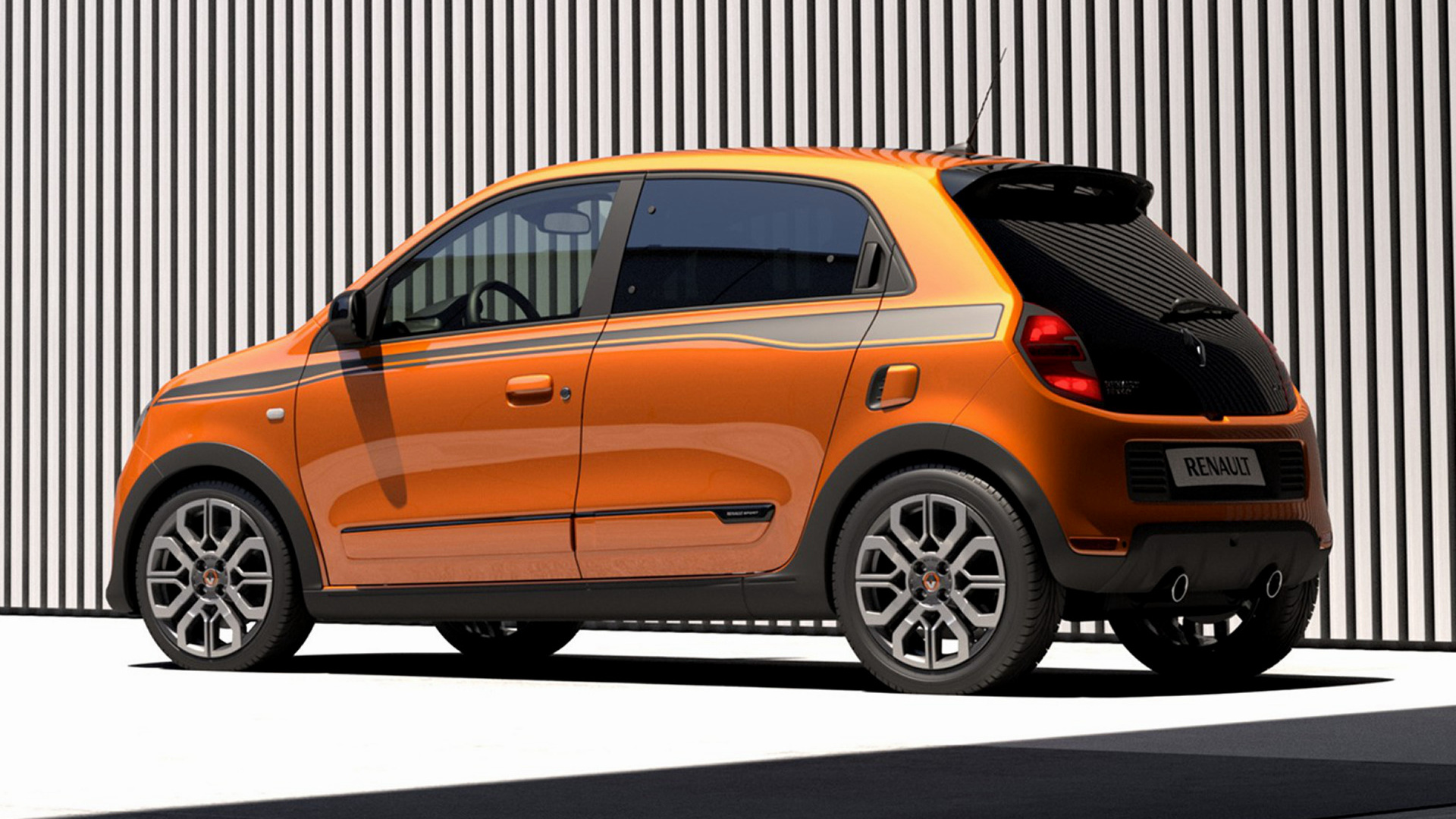 renault twingo gt 2016 wallpapers and hd images car pixel. Black Bedroom Furniture Sets. Home Design Ideas