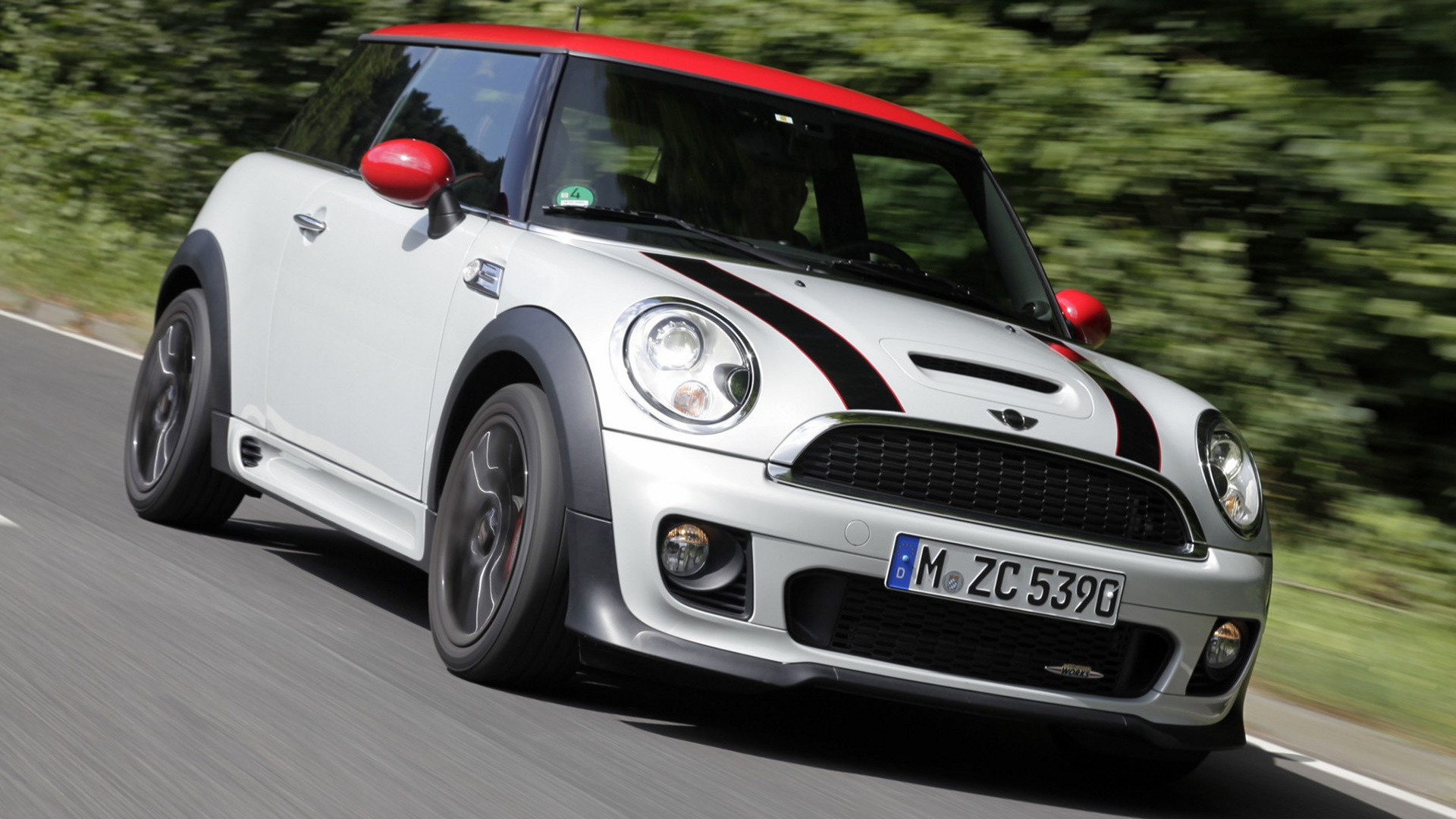 mini john cooper works 2010 wallpapers and hd images car pixel. Black Bedroom Furniture Sets. Home Design Ideas
