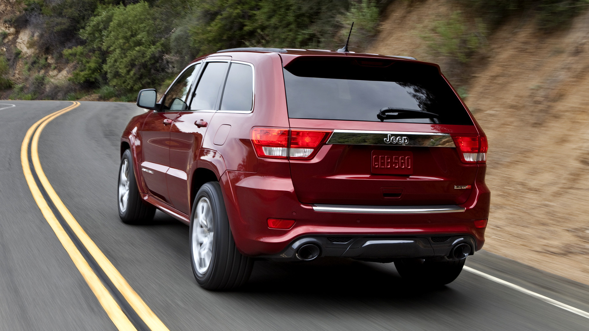 2010 Jeep Grand Cherokee Srt8 >> 2011 Jeep Grand Cherokee SRT8 - Wallpapers and HD Images | Car Pixel