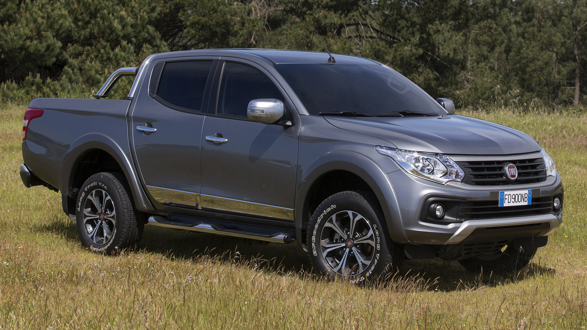 fiat fullback double cab 2016 wallpapers and hd images. Black Bedroom Furniture Sets. Home Design Ideas