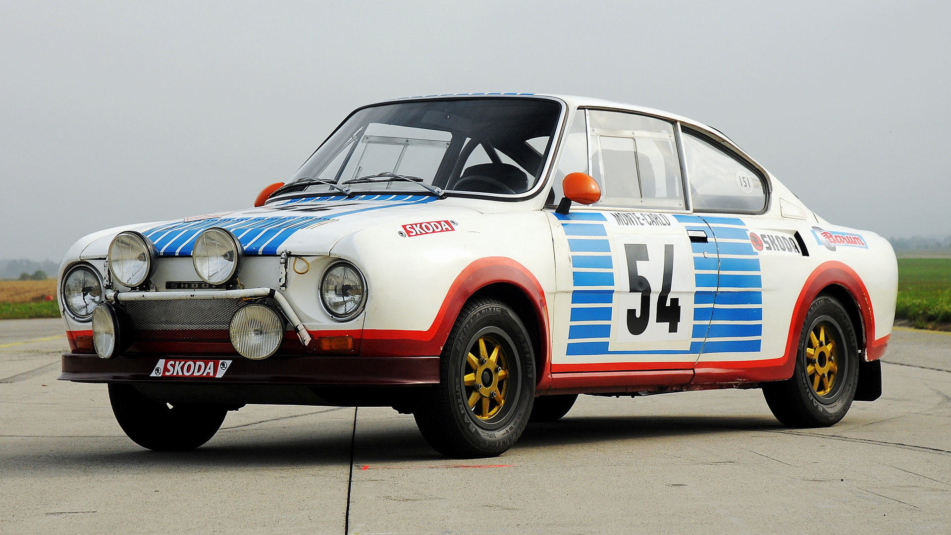 1975 Skoda 130 RS Rally Car - Wallpapers and HD Images ...