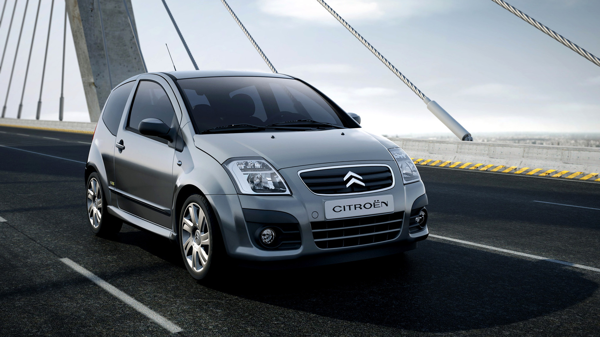 citroen c2 vtr 2008 wallpapers and hd images car pixel. Black Bedroom Furniture Sets. Home Design Ideas