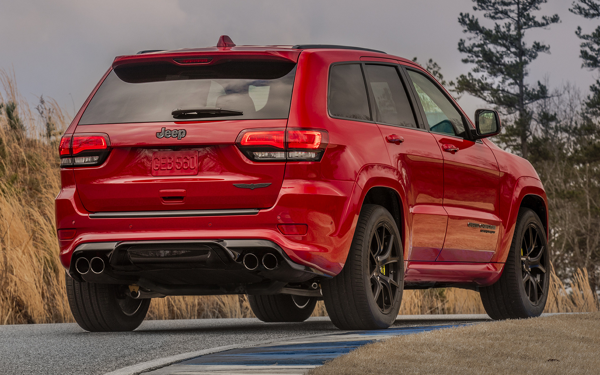 Jeep Summit 2017 >> 2018 Jeep Grand Cherokee Trackhawk - Wallpapers and HD Images | Car Pixel