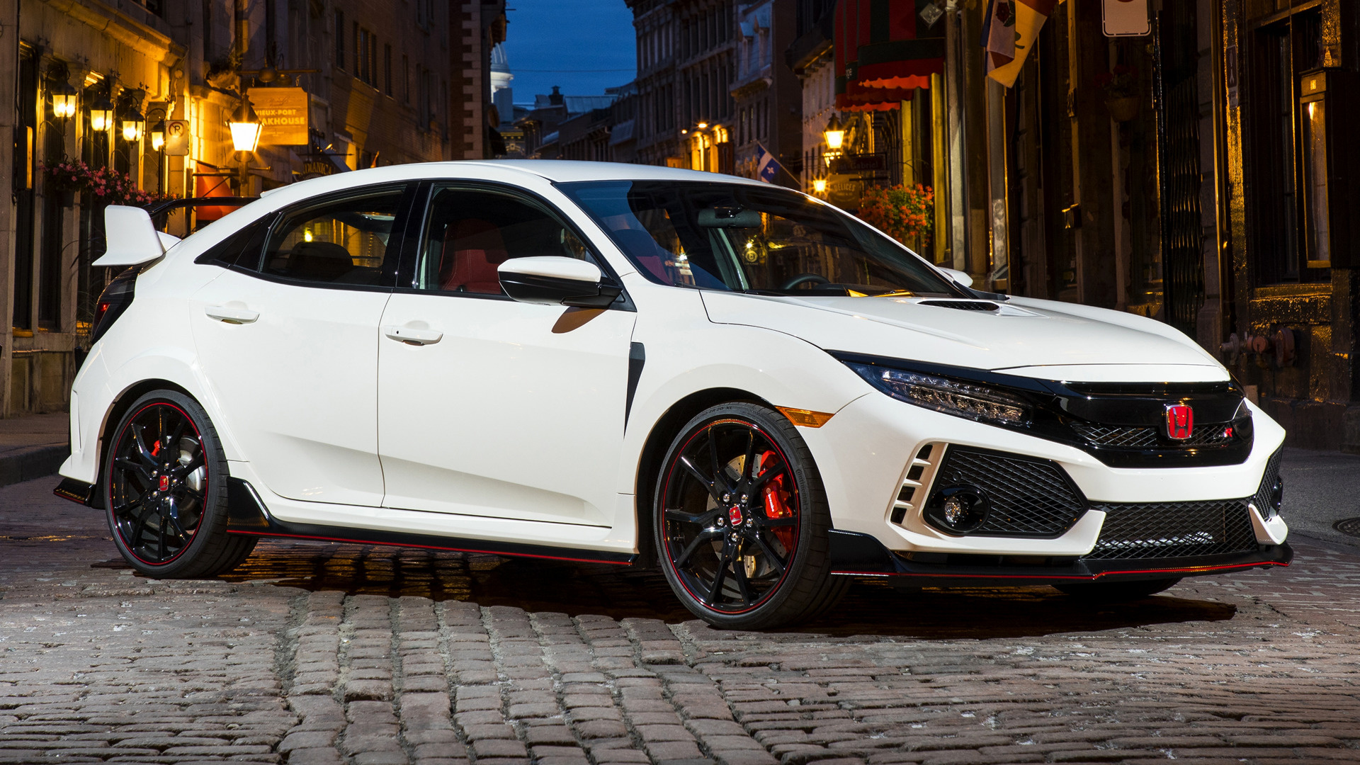 HD 16:9 · Wide 8:5 · Honda Civic Type R ..