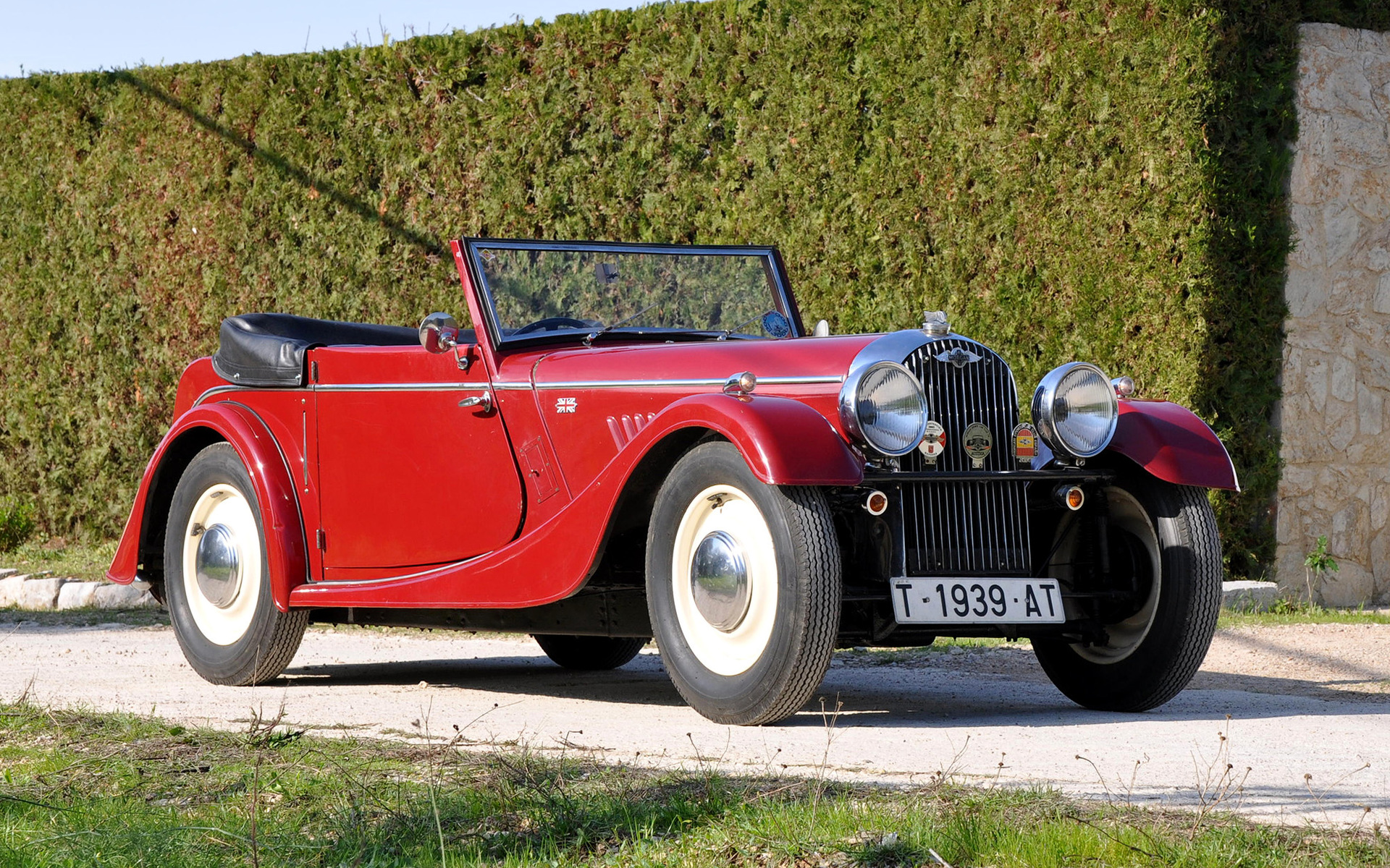 5.2 Dodge Engine >> Morgan 4/4 Drophead Coupe (1939) Wallpapers and HD Images ...