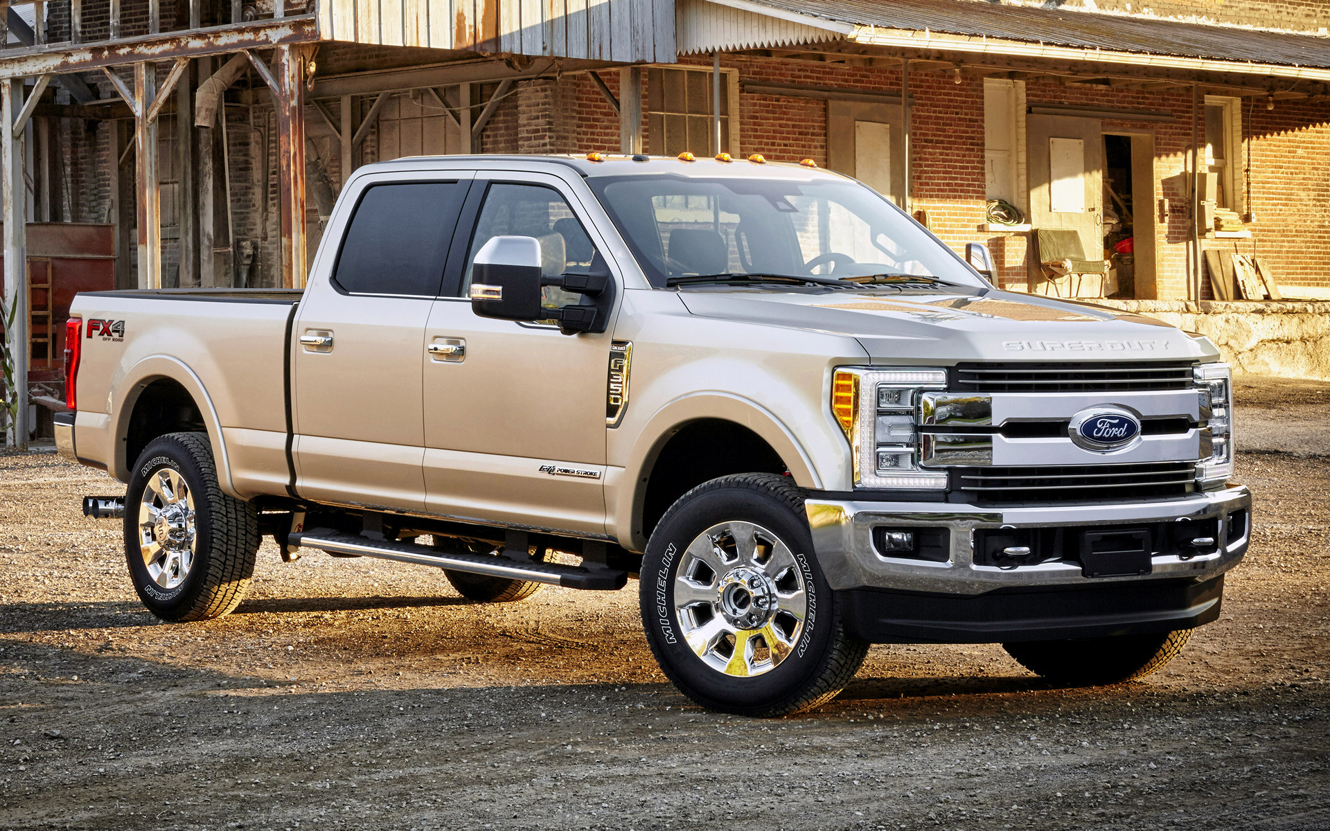 Ford F-350 King Ranch FX4 Crew Cab (2017) Wallpapers and ...