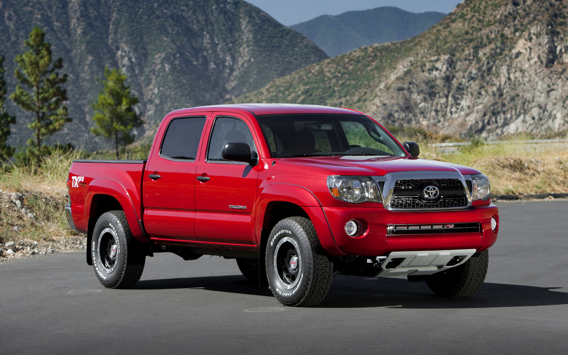 Trd Toyota Tacoma Double Cab T X Pro Performance Package