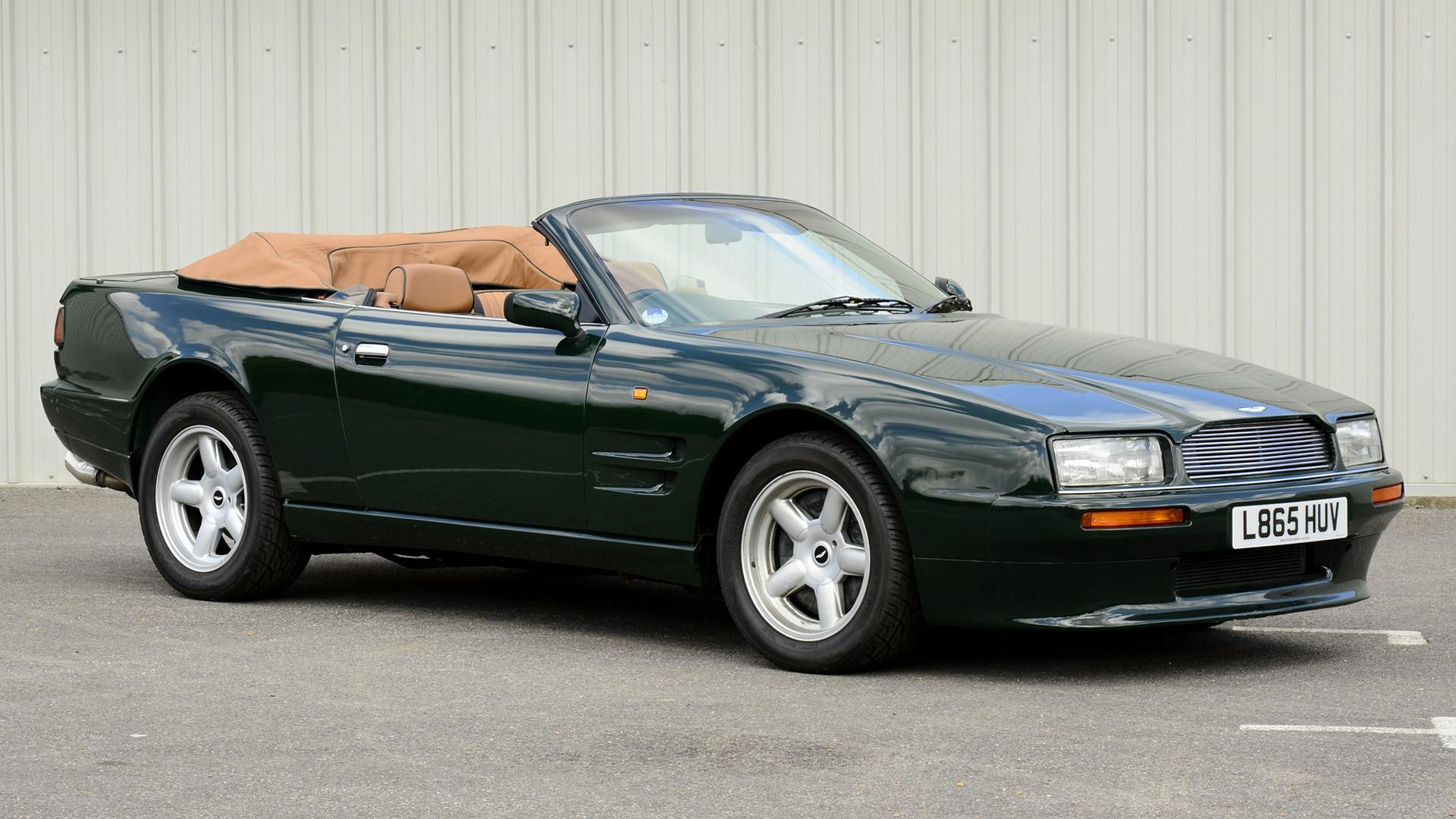 1992 Aston Martin Virage Volante Uk Hintergrundbilder Und Wallpaper In Hd Car Pixel