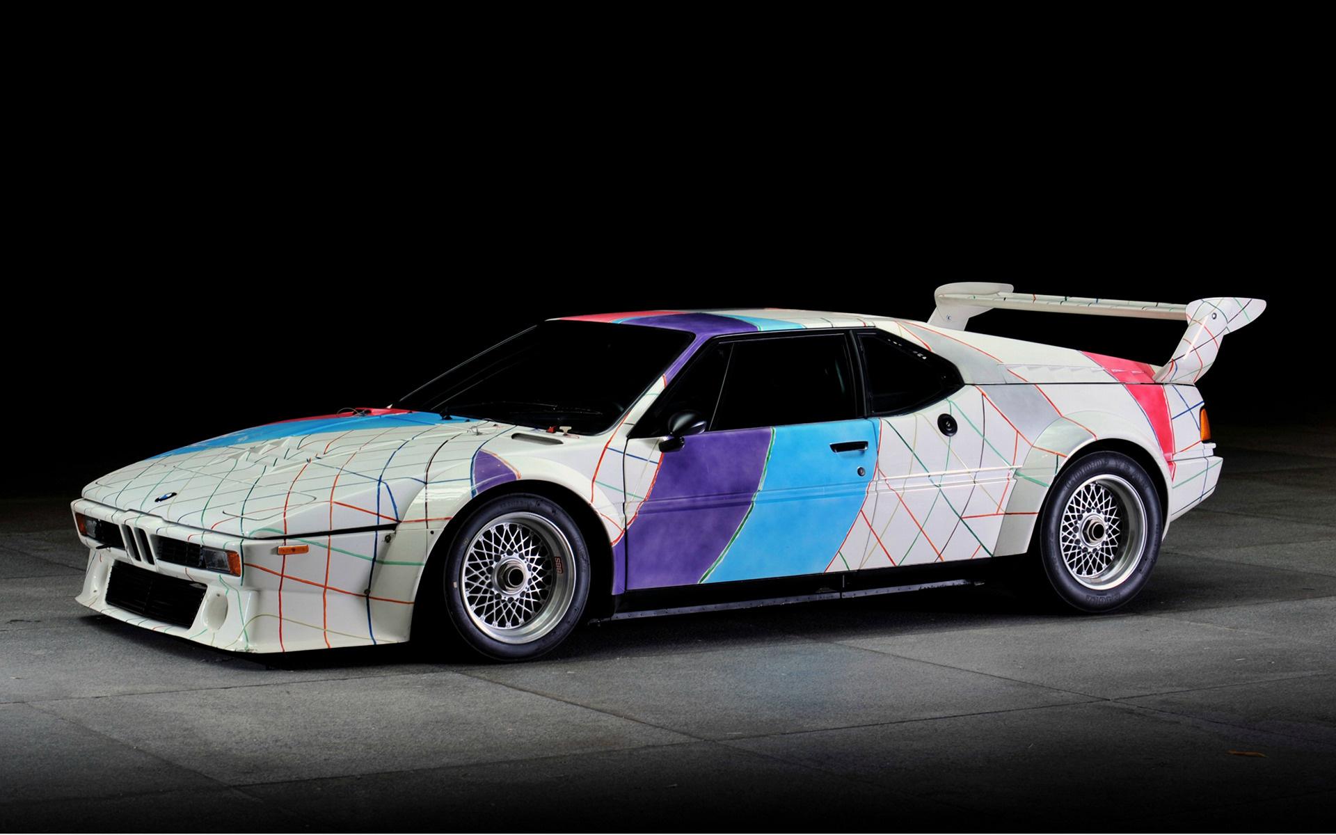 1979 Bmw M1 Procar Art Car By Frank Stella Wallpapers And Hd