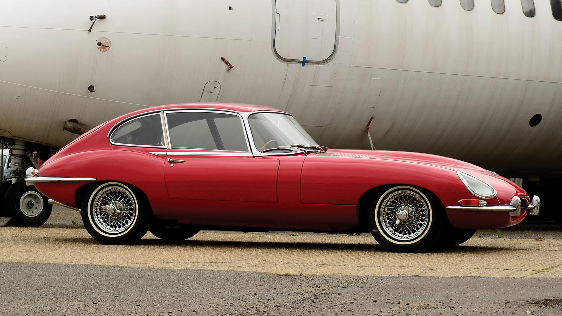 Jaguar E Type Plus Coupe Wallpaper Hd