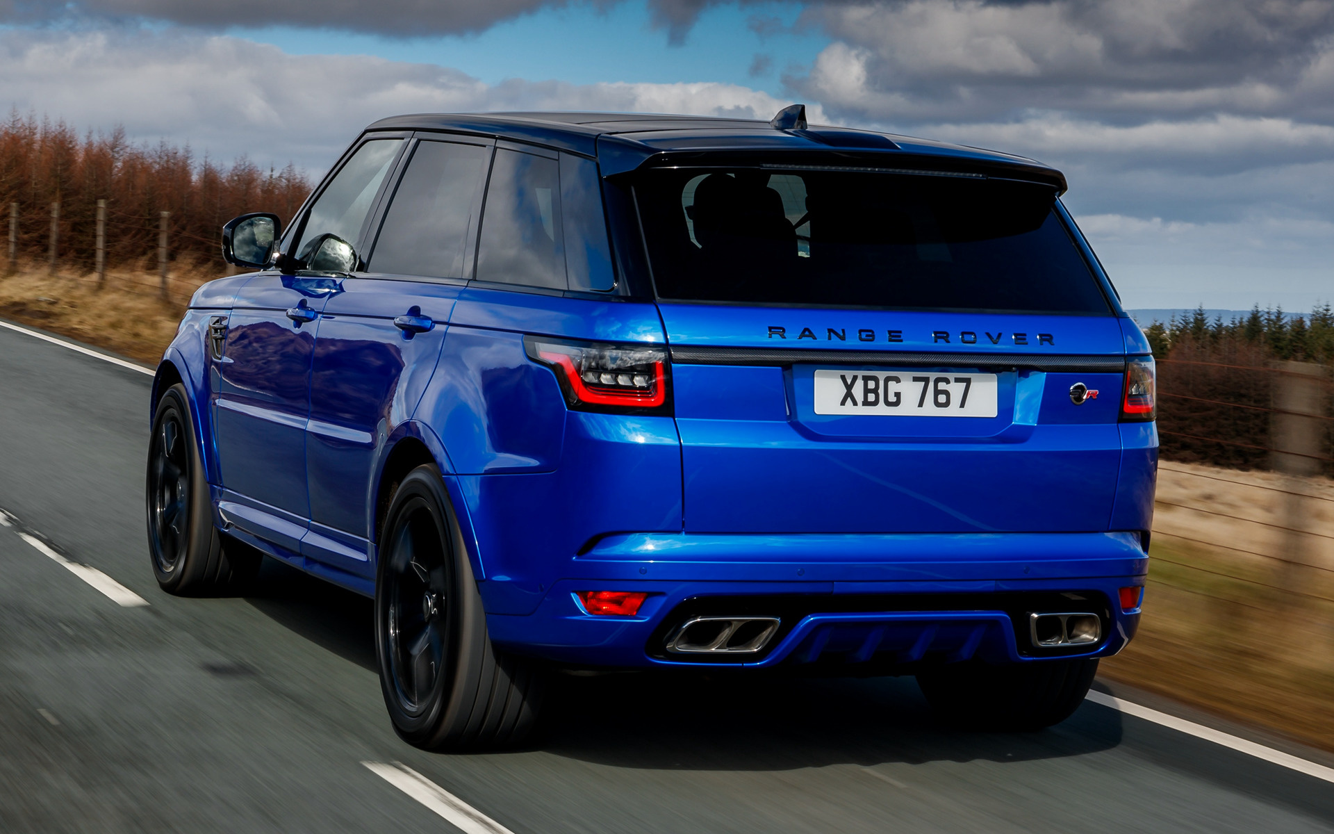 Range Rover Autobiography >> 2018 Range Rover Sport SVR (UK) - Fonds d'écran et images ...