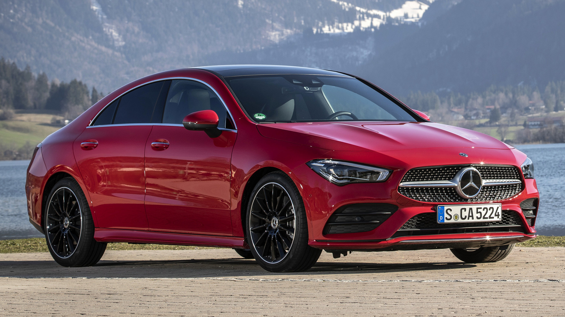 Mercedes Benz Cla >> 2019 Mercedes-Benz CLA-Class AMG Line - Wallpapers and HD Images | Car Pixel