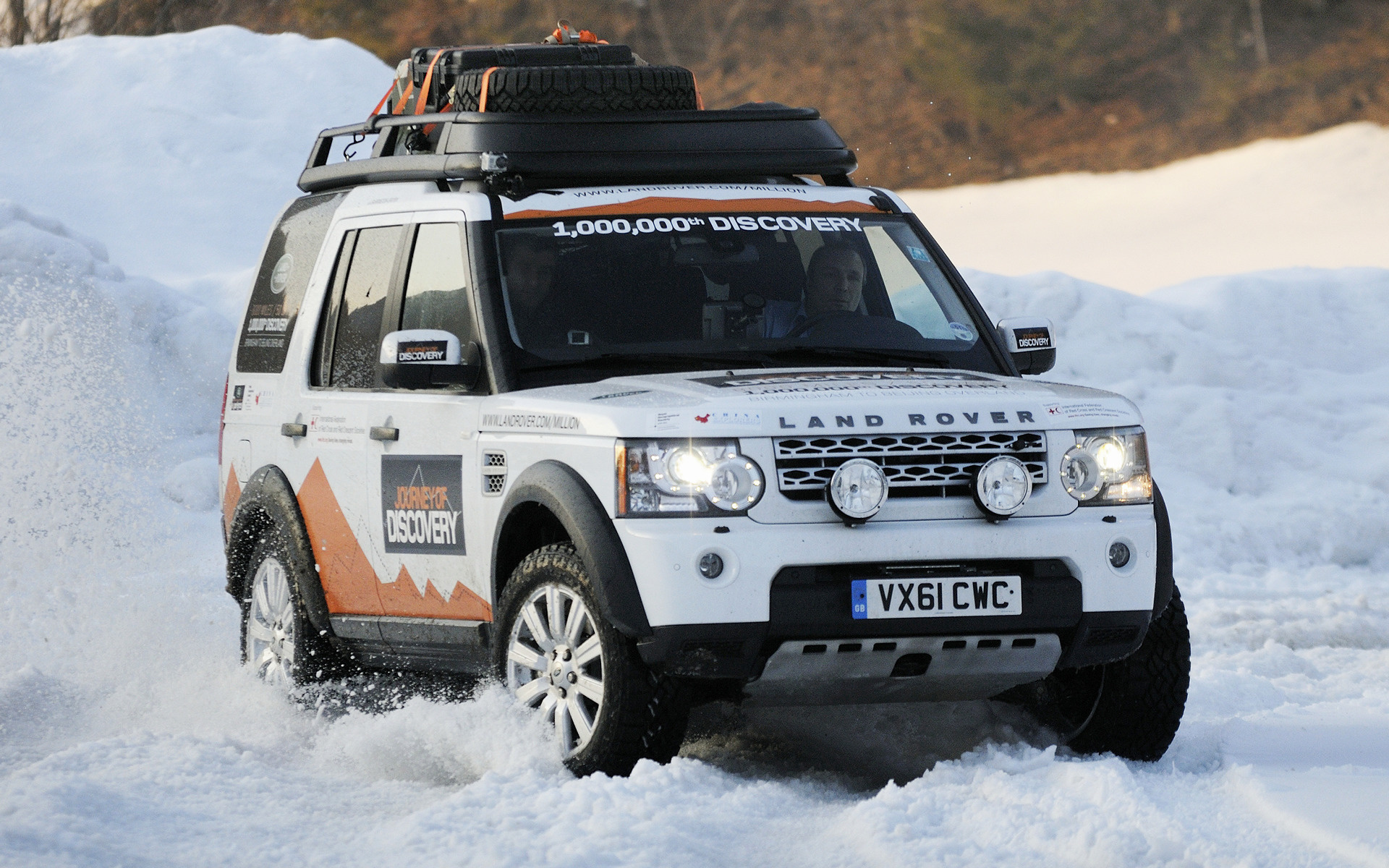 Land Rover Discovery 4 Expedition Vehicle (2012 ...