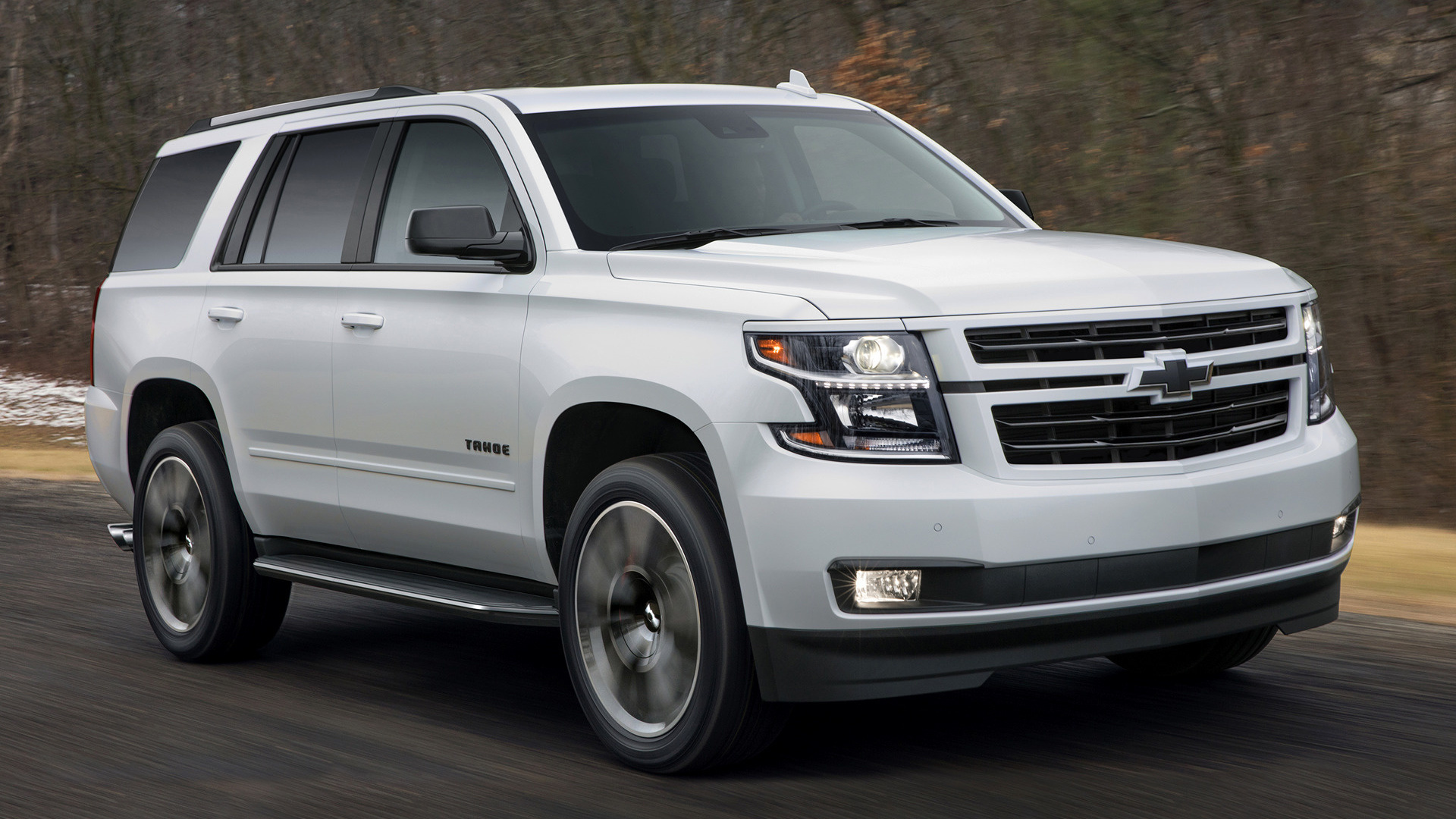 2018 Chevrolet Tahoe Rst Premier Wallpapers And Hd